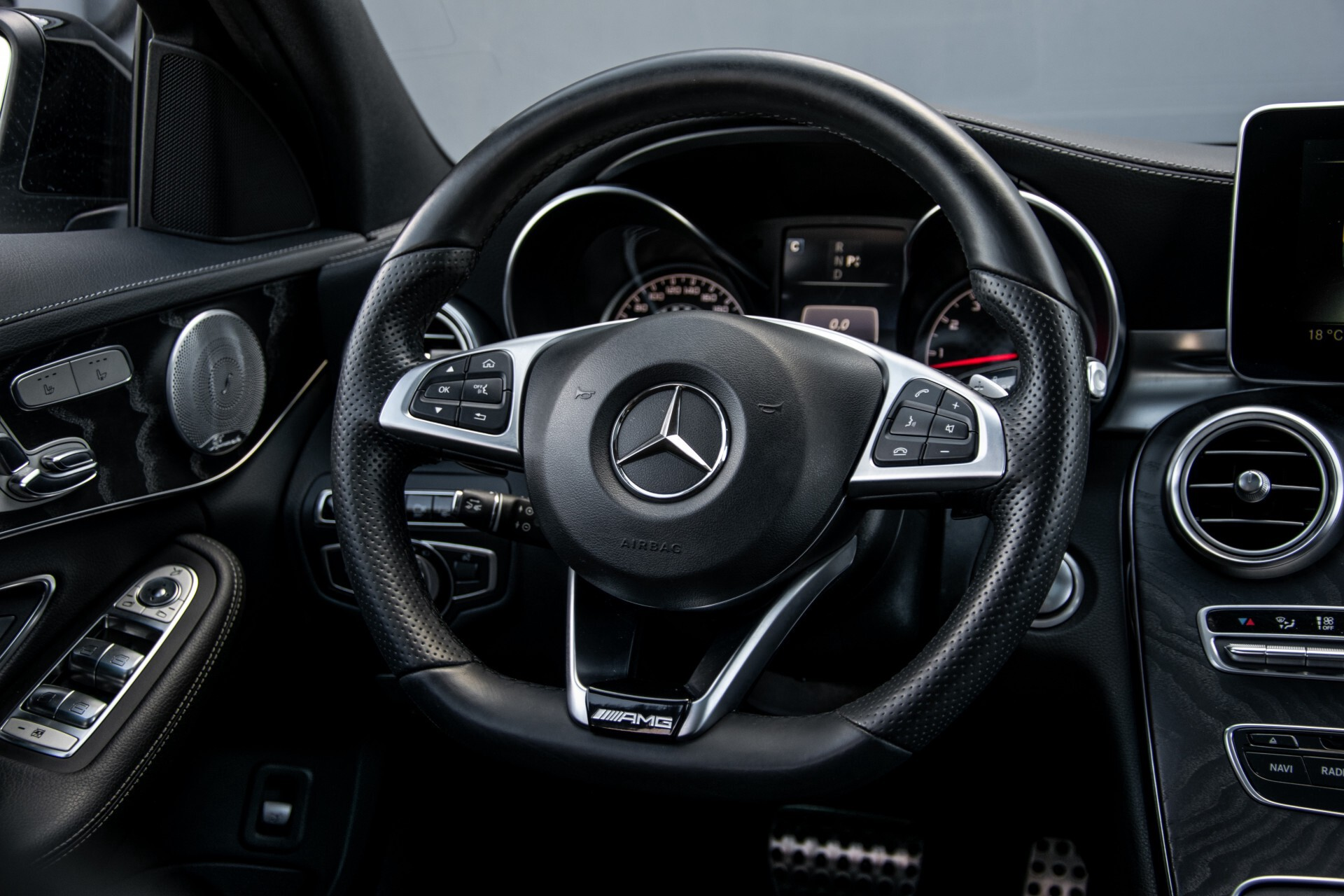 Mercedes-Benz C-Klasse 450/43 AMG 4-M Distronic/Standkachel/Panorama/Keyless/Harman-Kardon/Stoelkoeling Aut7 Foto 7