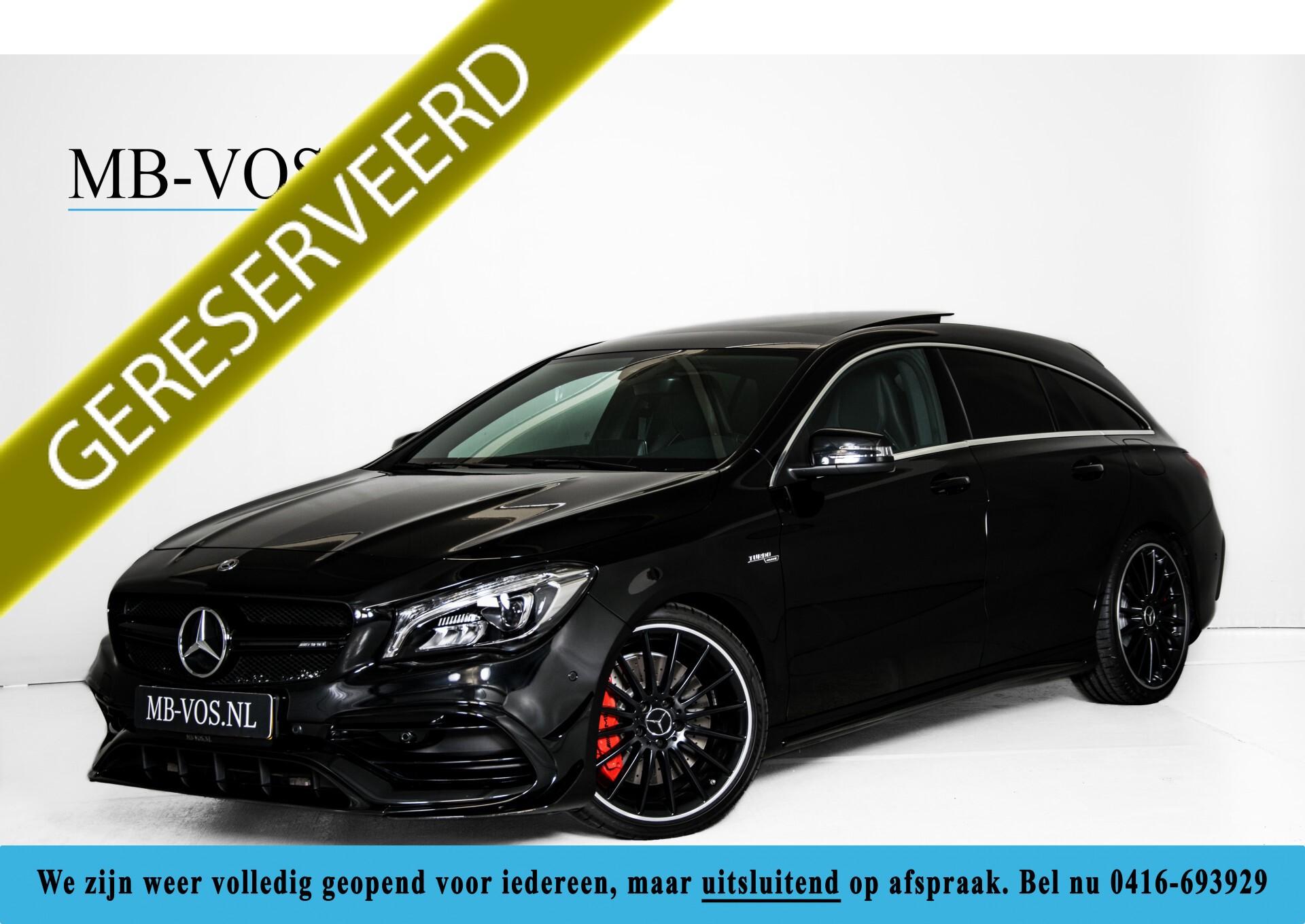 """Mercedes-Benz CLA-Klasse Shooting Brake 45 AMG 4-M Performance Stoelen/Uitlaat/19"""" velgen/Exclusive/Panorama Aut7 Foto 1"""