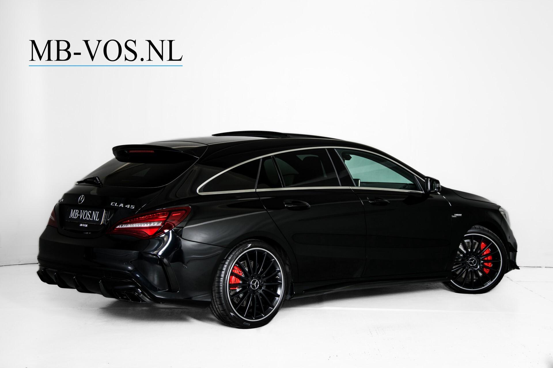 """Mercedes-Benz CLA-Klasse Shooting Brake 45 AMG 4-M Performance Stoelen/Uitlaat/19"""" velgen/Exclusive/Panorama Aut7 Foto 2"""