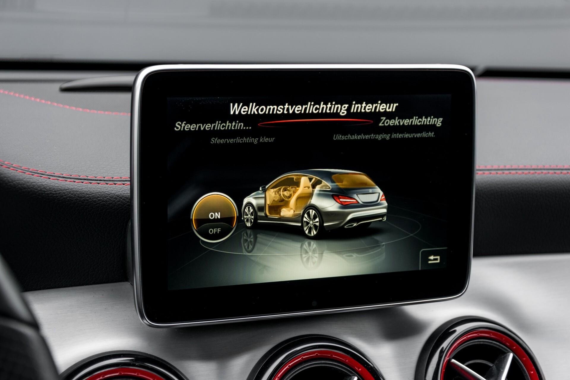 """Mercedes-Benz CLA-Klasse Shooting Brake 45 AMG 4-M Performance Stoelen/Uitlaat/19"""" velgen/Exclusive/Panorama Aut7 Foto 28"""