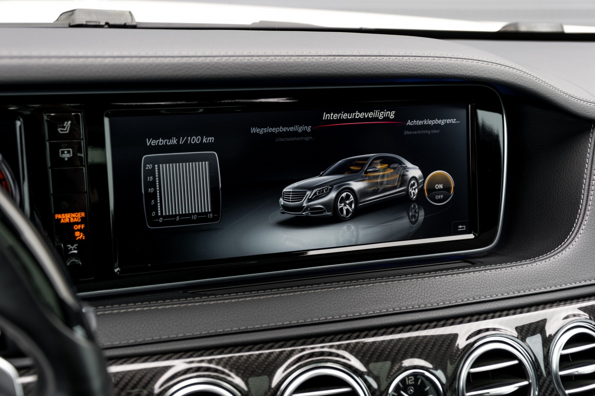 Mercedes-Benz S-Klasse 350 Bluetec Lang 4-M AMG Plus Carbon/Burmester 3D/Standkachel/4xMassage/Entertainment Aut7 Foto 39