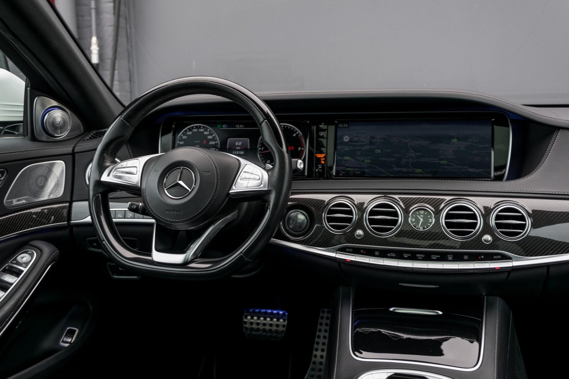 Mercedes-Benz S-Klasse 350 Bluetec Lang 4-M AMG Plus Carbon/Burmester 3D/Standkachel/4xMassage/Entertainment Aut7 Foto 6