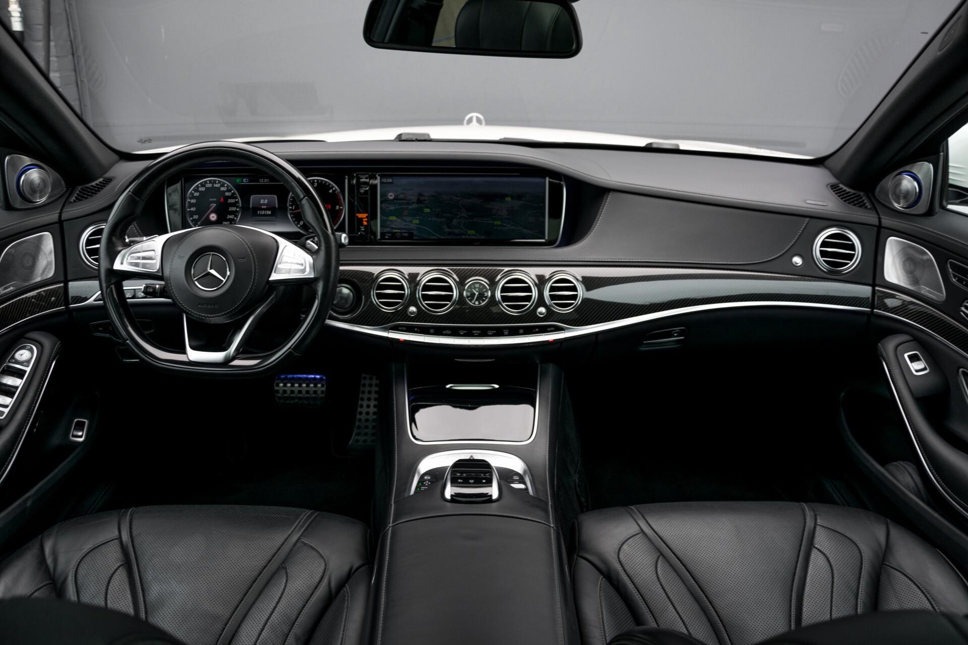 Mercedes-Benz S-Klasse 350 Bluetec Lang 4-M AMG Plus Carbon/Burmester 3D/Standkachel/4xMassage/Entertainment Aut7 Foto 8