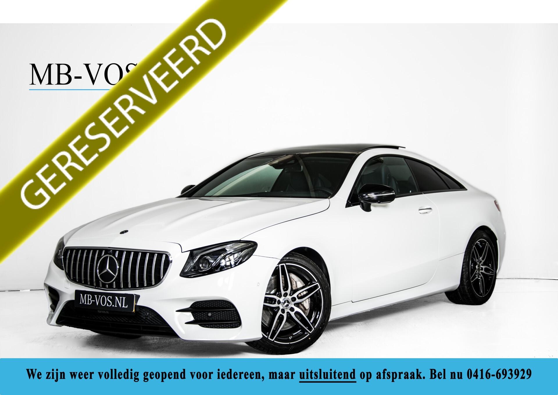 Mercedes-Benz E-Klasse Coupé 300 AMG Panorama/Rij-assist/Keyless/Massage/Memory/HUD/Standkachel/Night Aut9 Foto 1