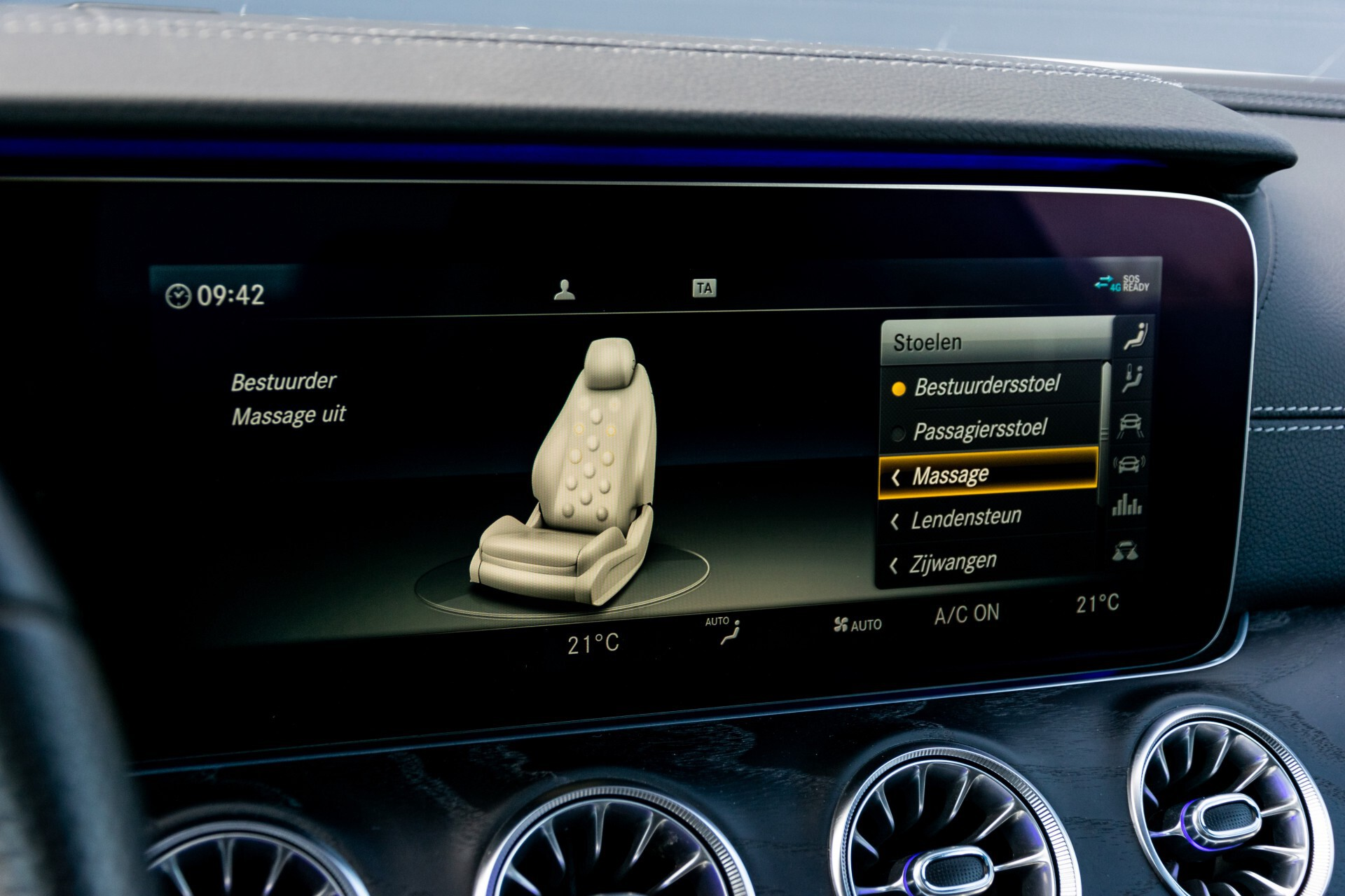 Mercedes-Benz E-Klasse Coupé 300 AMG Panorama/Rij-assist/Keyless/Massage/Memory/HUD/Standkachel/Night Aut9 Foto 27