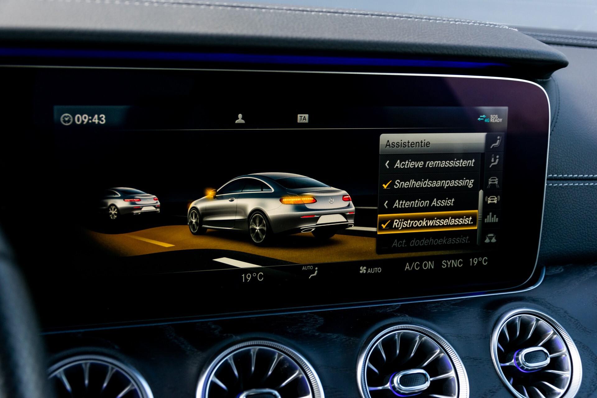 Mercedes-Benz E-Klasse Coupé 300 AMG Panorama/Rij-assist/Keyless/Massage/Memory/HUD/Standkachel/Night Aut9 Foto 41