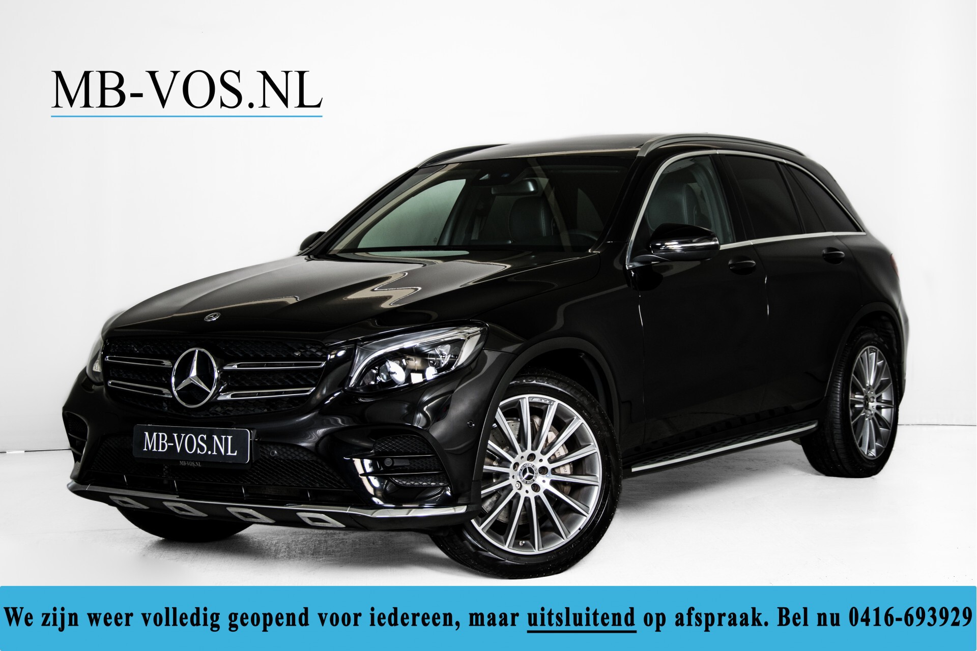 "Mercedes-Benz GLC 250 d 4-M AMG Panorama/Burmester/20""/Treeplanken/Trekhaak/Camera Aut9 Foto 1"