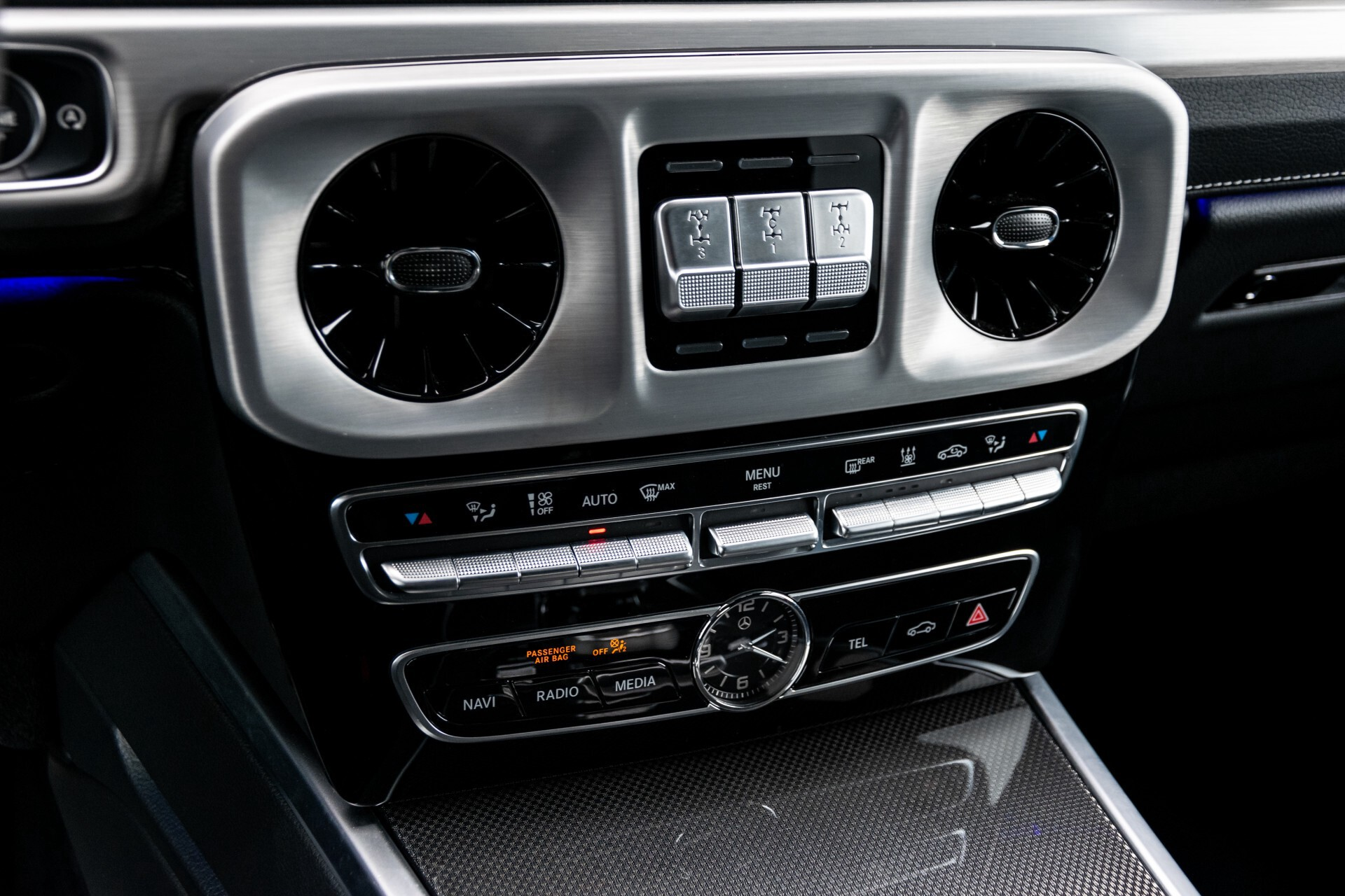 Mercedes-Benz G-Klasse 500 AMG Massage/Entertainment/Manufaktur/Standkachel/Distronic/RVS Aut9 Foto 13