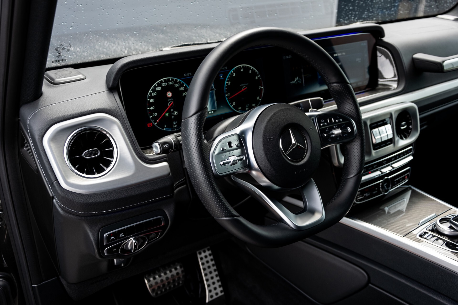 Mercedes-Benz G-Klasse 500 AMG Massage/Entertainment/Manufaktur/Standkachel/Distronic/RVS Aut9 Foto 25