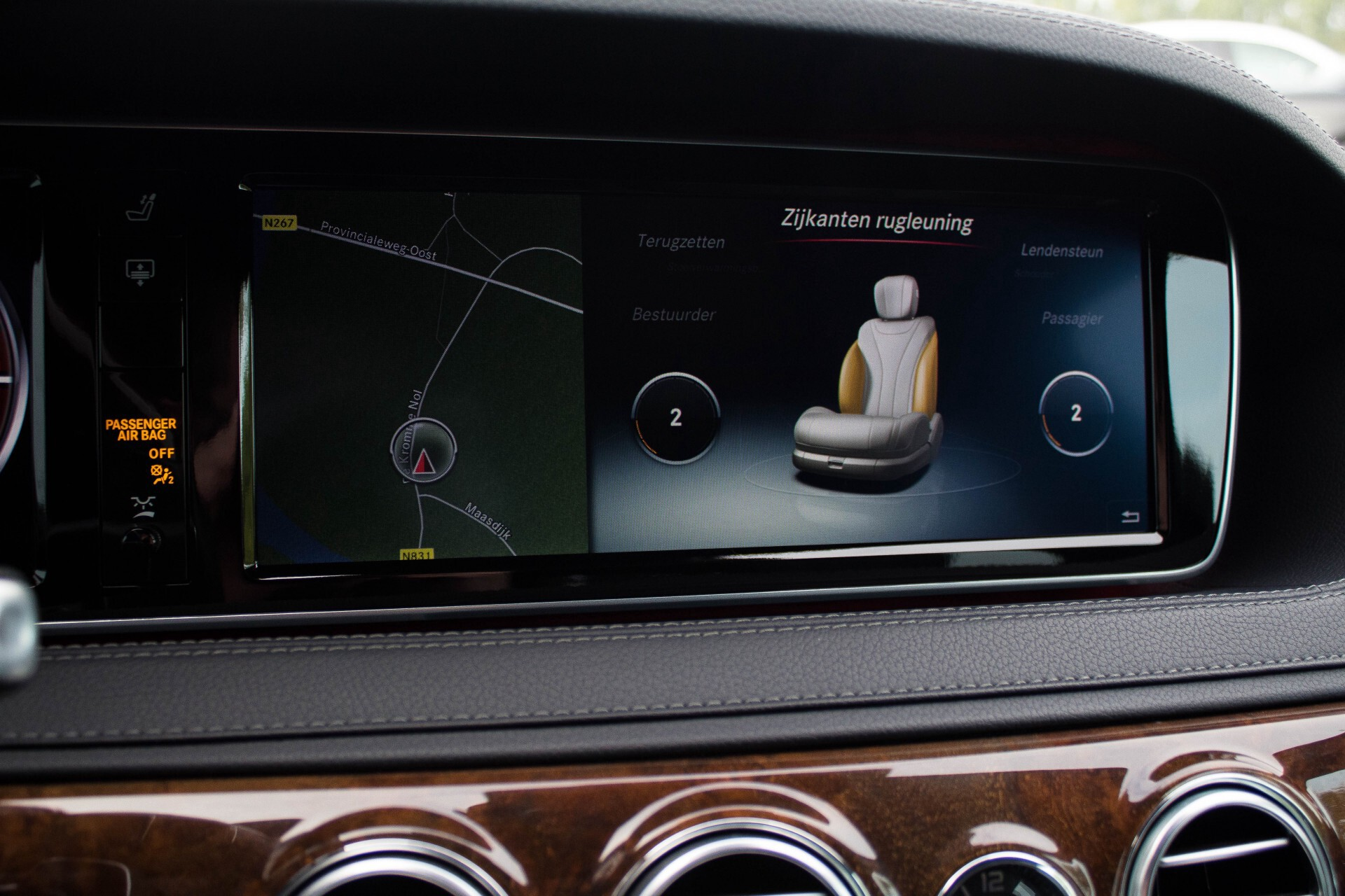 "Mercedes-Benz S-Klasse 350 Bluetec Massage/Keyless/Rij-assistentie/Panorama/Nightvision/19"" Aut7 Foto 13"