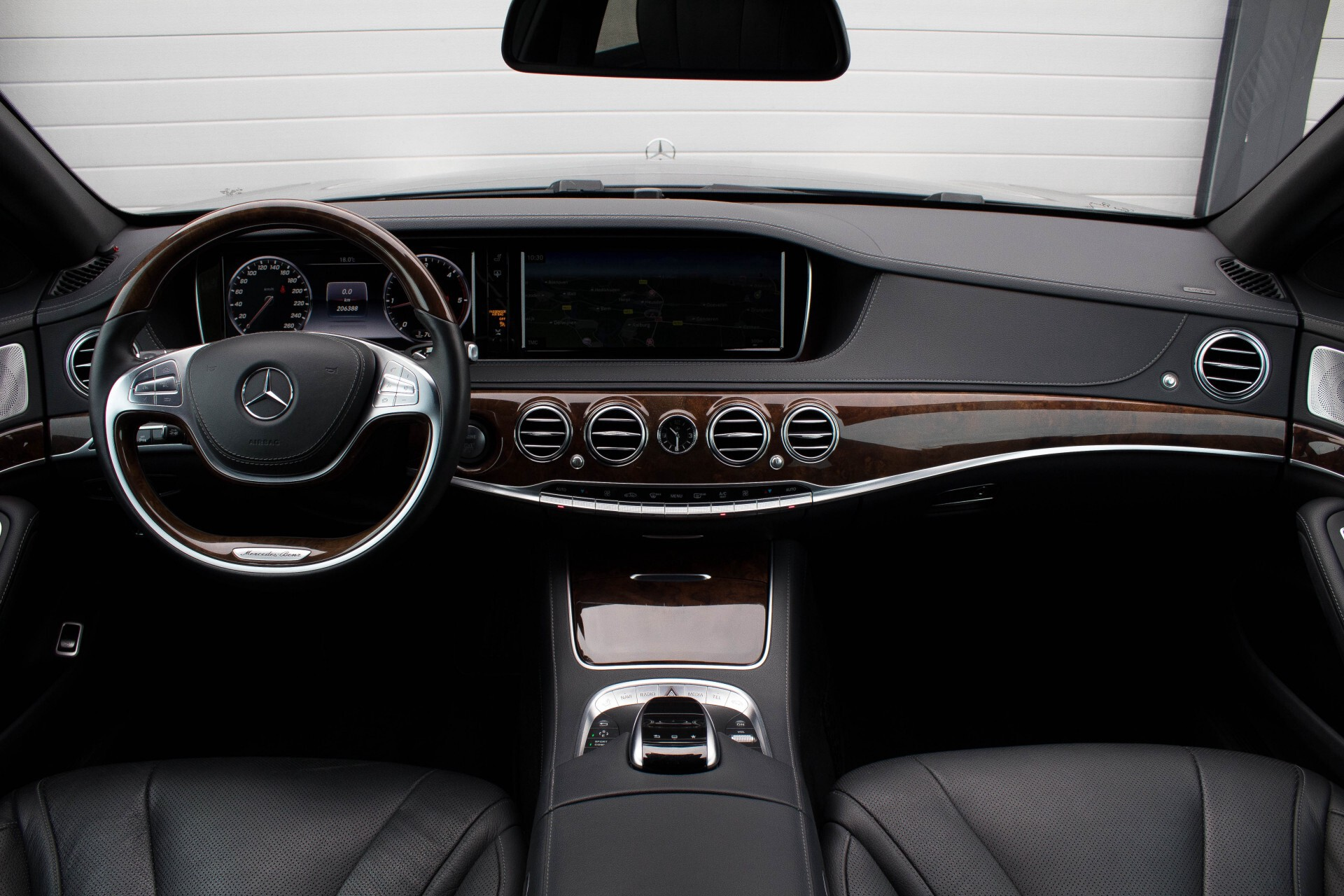 "Mercedes-Benz S-Klasse 350 Bluetec Massage/Keyless/Rij-assistentie/Panorama/Nightvision/19"" Aut7 Foto 7"
