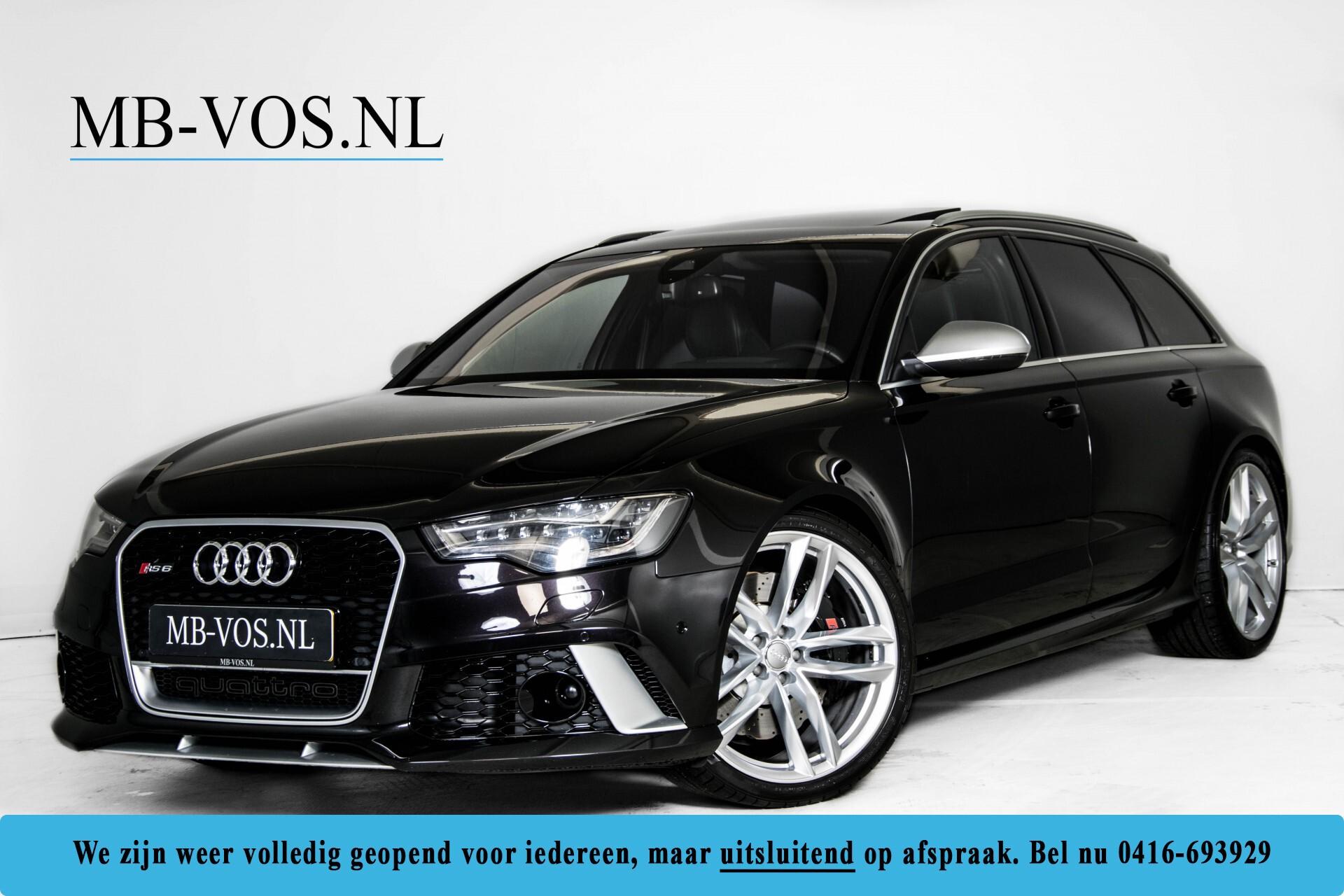 Audi RS6 Avant 4.0 TFSI Quattro B&O/Carbon/Head-Up/Nachtzicht/Exclusive/Camera/Keyless/Pano Aut8 Foto 1