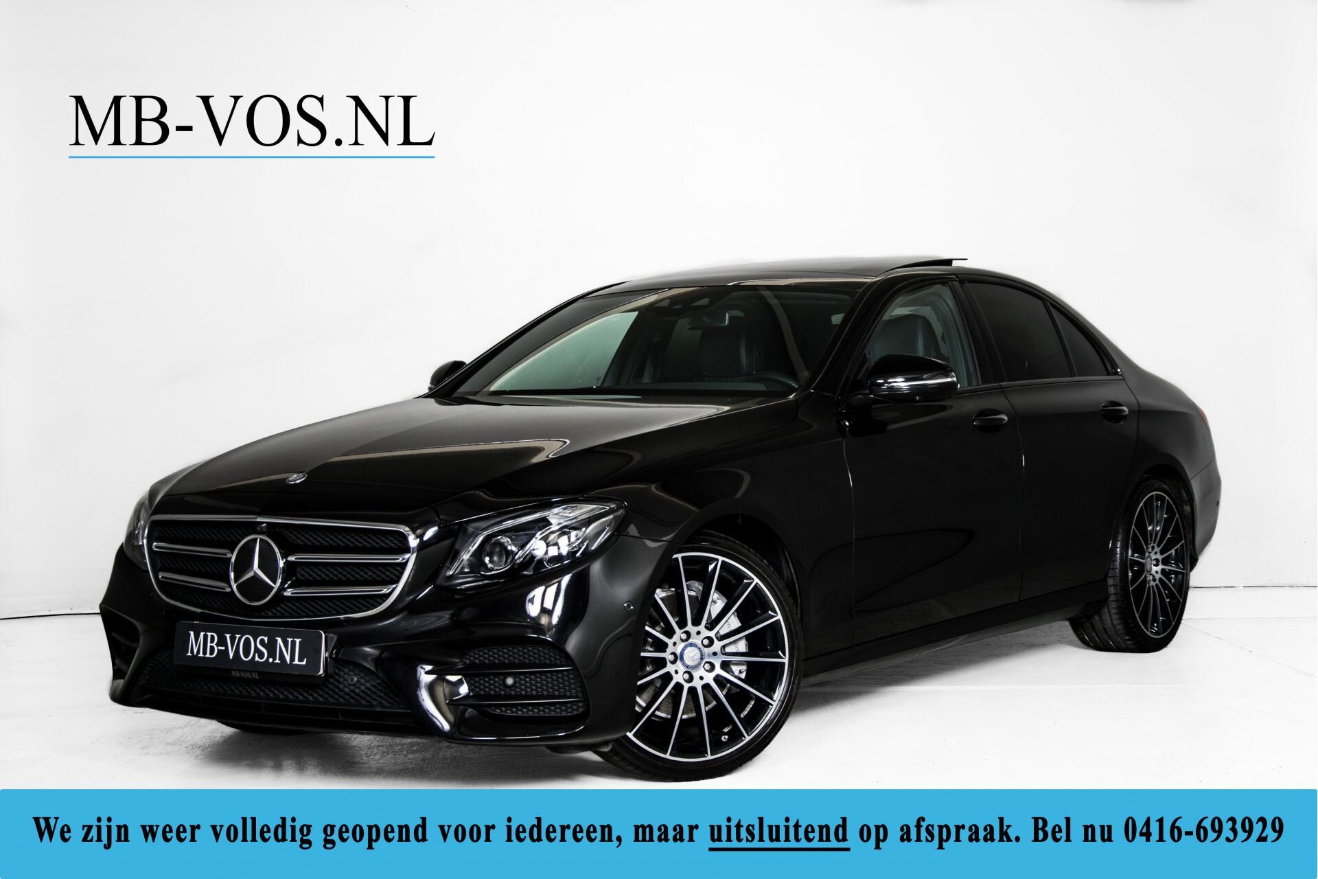"Mercedes-Benz E-Klasse 220 d AMG Night Panorama/Widescreen/Burmester/20""/Wegklapbare trekhaak Aut9 Foto 1"