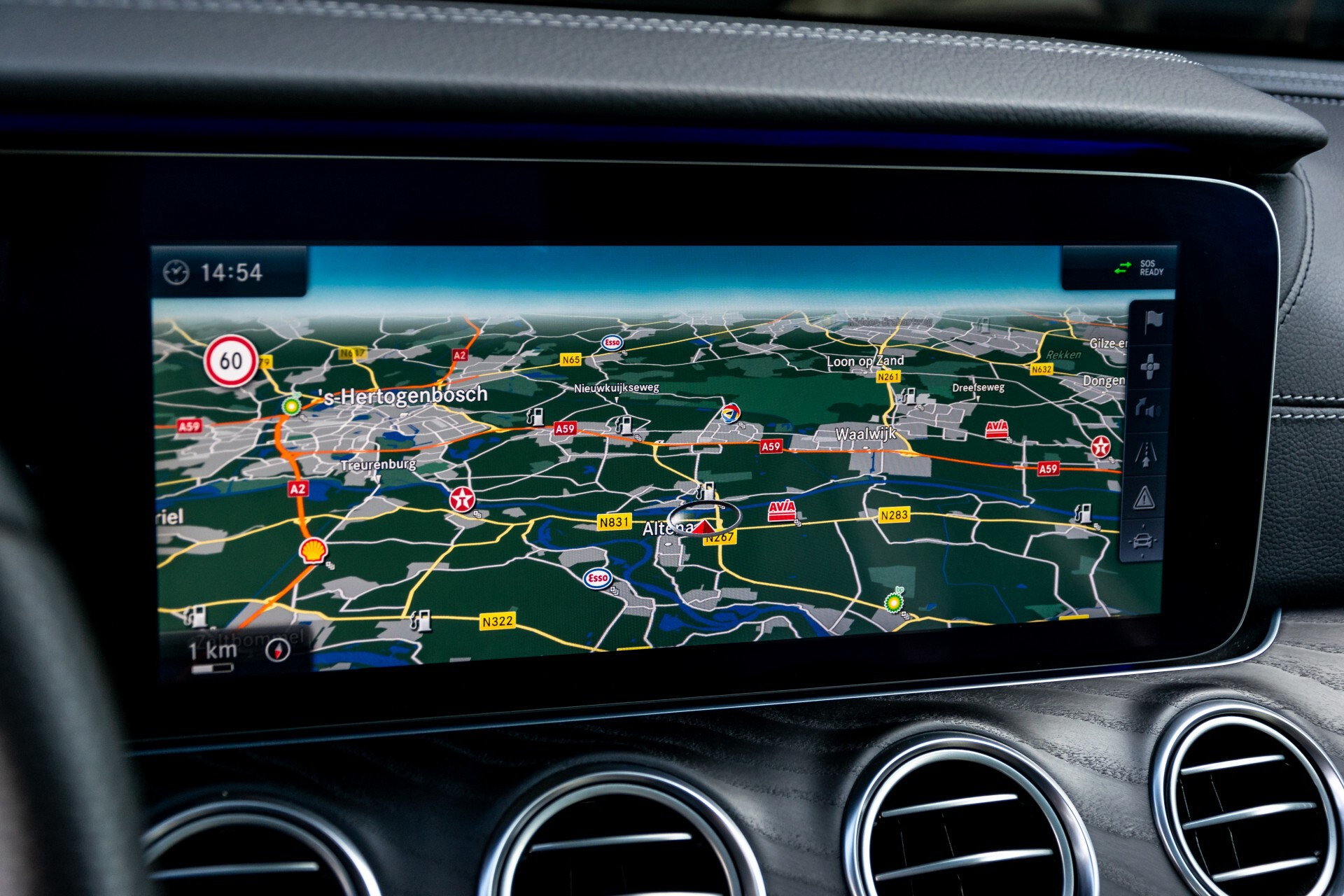 "Mercedes-Benz E-Klasse 220 d AMG Night Panorama/Widescreen/Burmester/20""/Wegklapbare trekhaak Aut9 Foto 16"