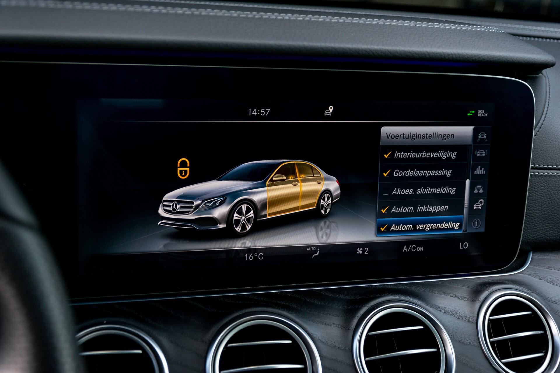 "Mercedes-Benz E-Klasse 220 d AMG Night Panorama/Widescreen/Burmester/20""/Wegklapbare trekhaak Aut9 Foto 46"