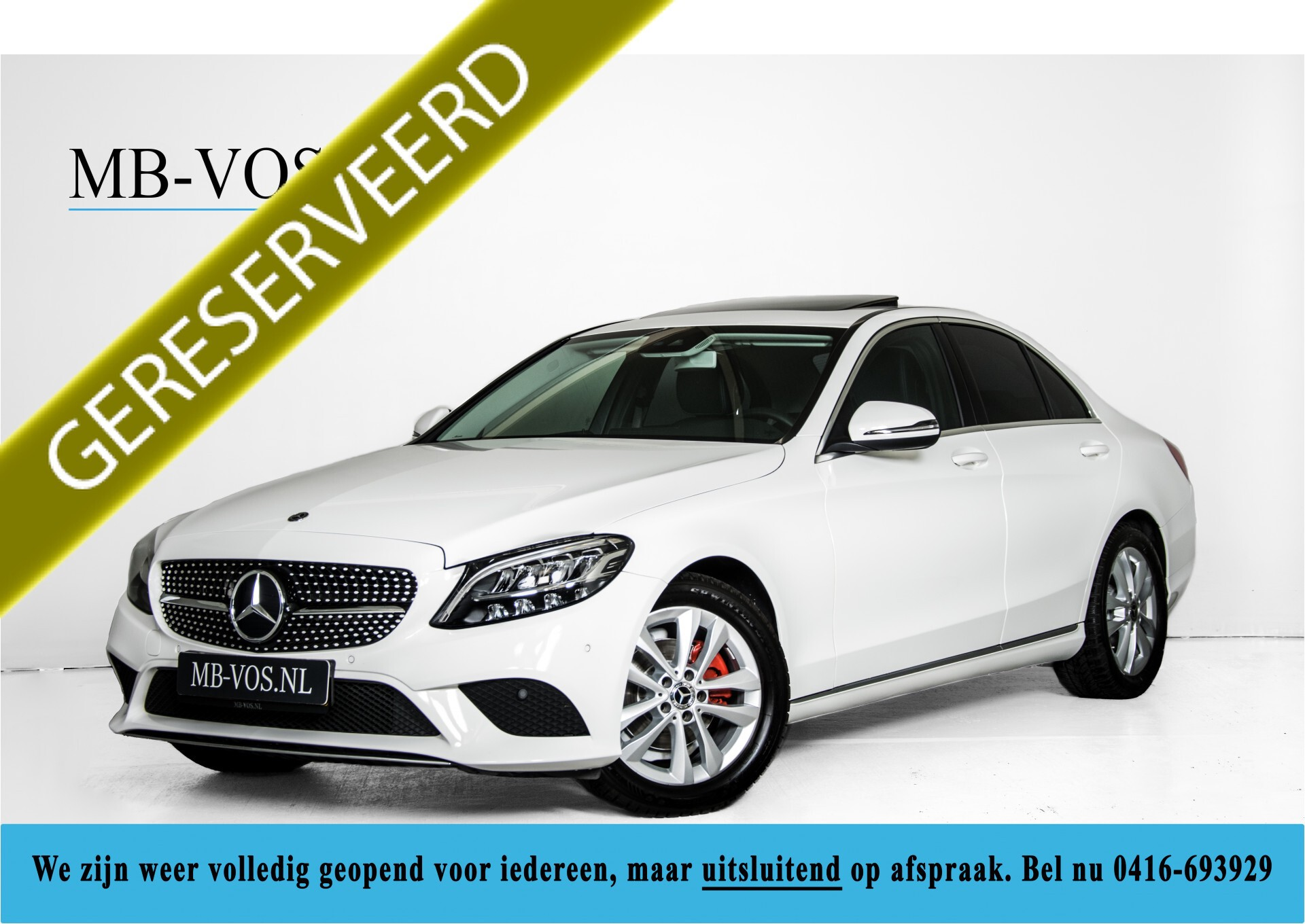 Mercedes-Benz C-Klasse 180 Avantgarde Advanced/Schuifdak/Groot Navi Aut9 Foto 1