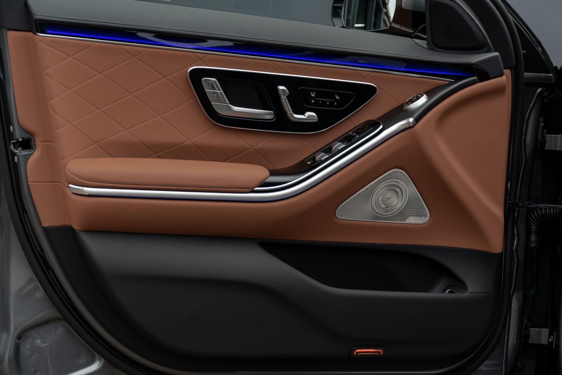Mercedes-Benz S-Klasse 500 4-M AMG Siennabruin ruitleder/Rij-assistentiepakket/Keyless/Burmester Aut9 Foto 11