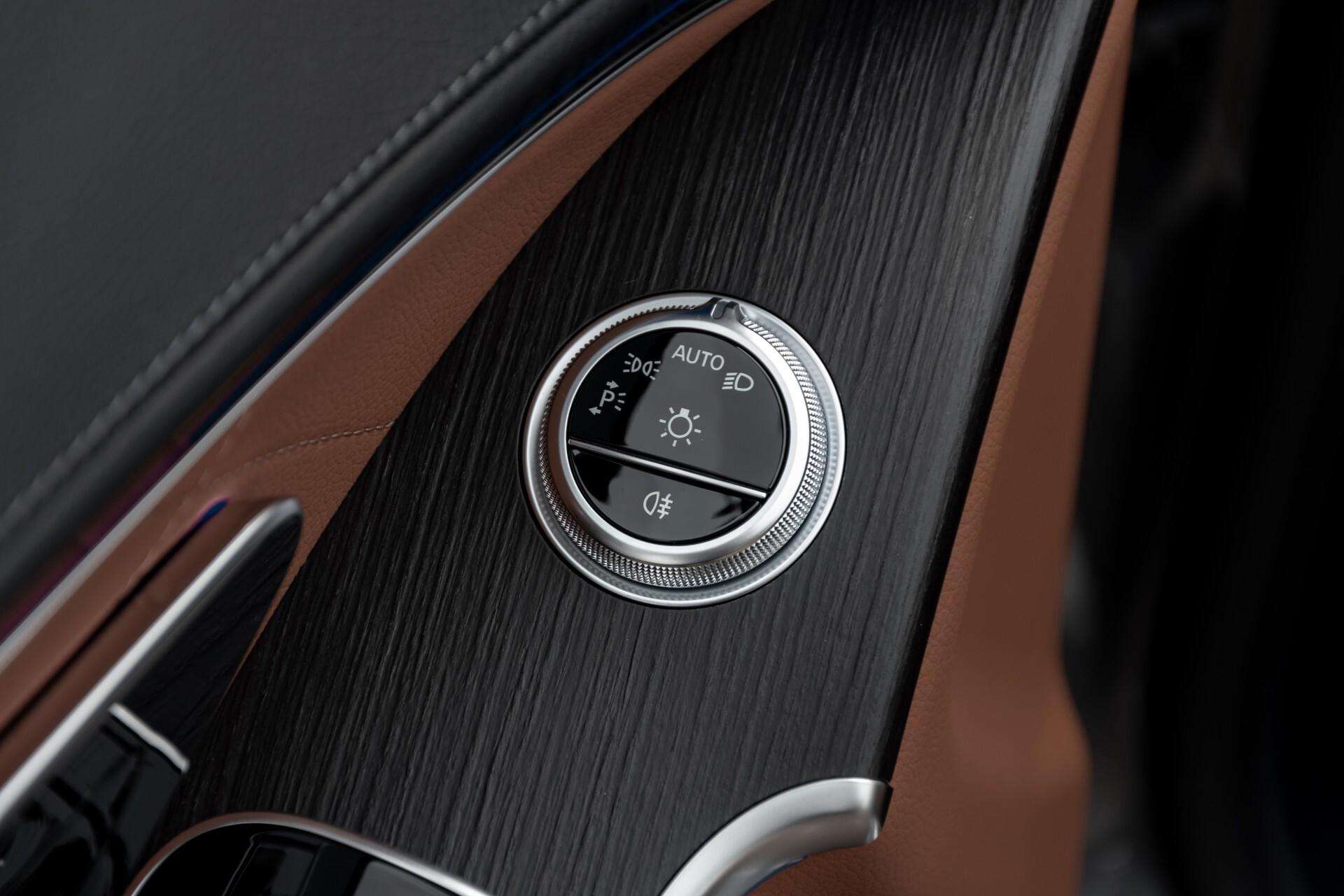 Mercedes-Benz S-Klasse 500 4-M AMG Siennabruin ruitleder/Rij-assistentiepakket/Keyless/Burmester Aut9 Foto 13