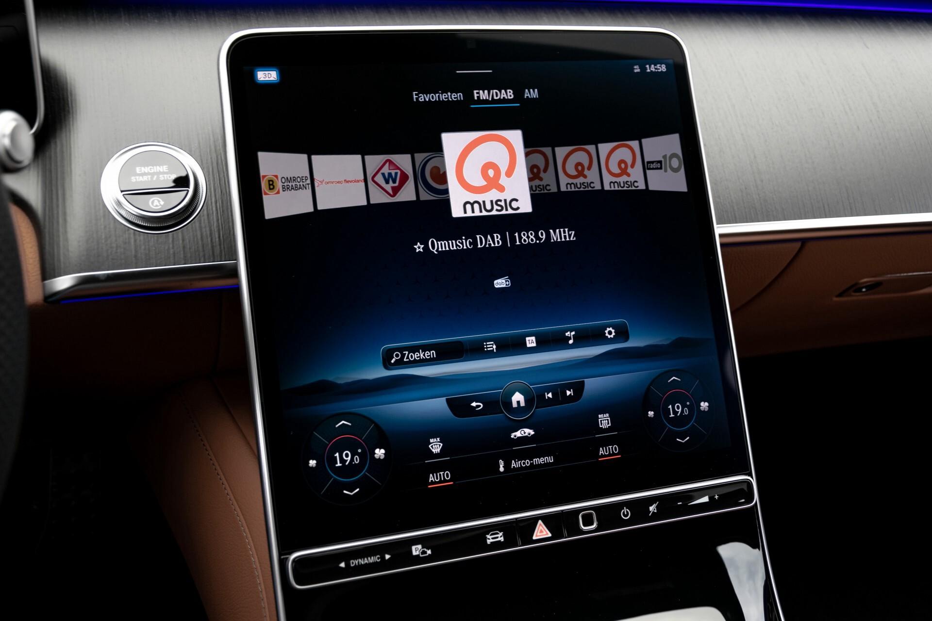 Mercedes-Benz S-Klasse 500 4-M AMG Siennabruin ruitleder/Rij-assistentiepakket/Keyless/Burmester Aut9 Foto 20