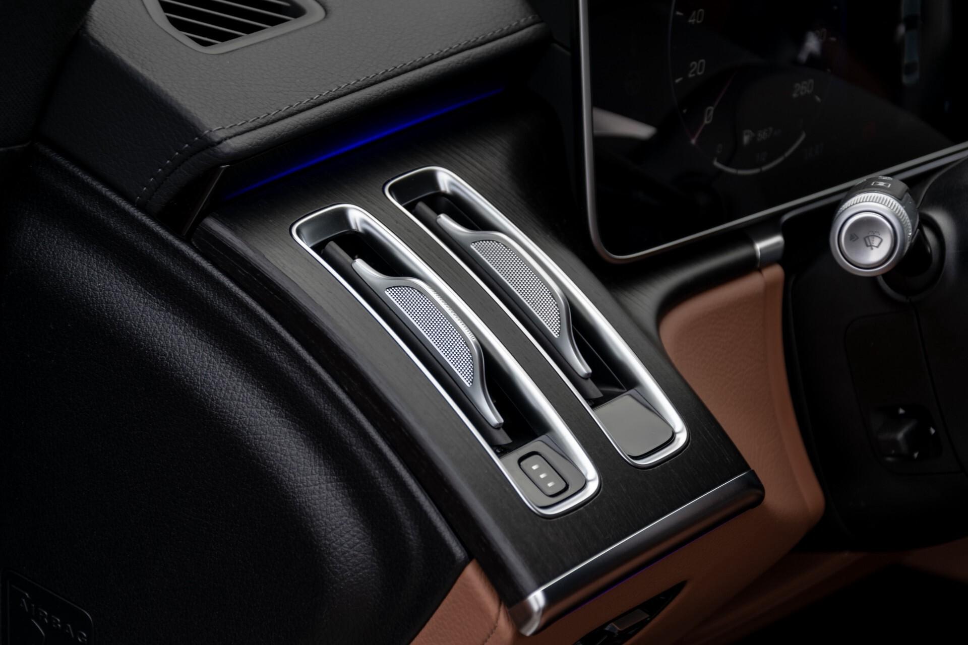 Mercedes-Benz S-Klasse 500 4-M AMG Siennabruin ruitleder/Rij-assistentiepakket/Keyless/Burmester Aut9 Foto 27