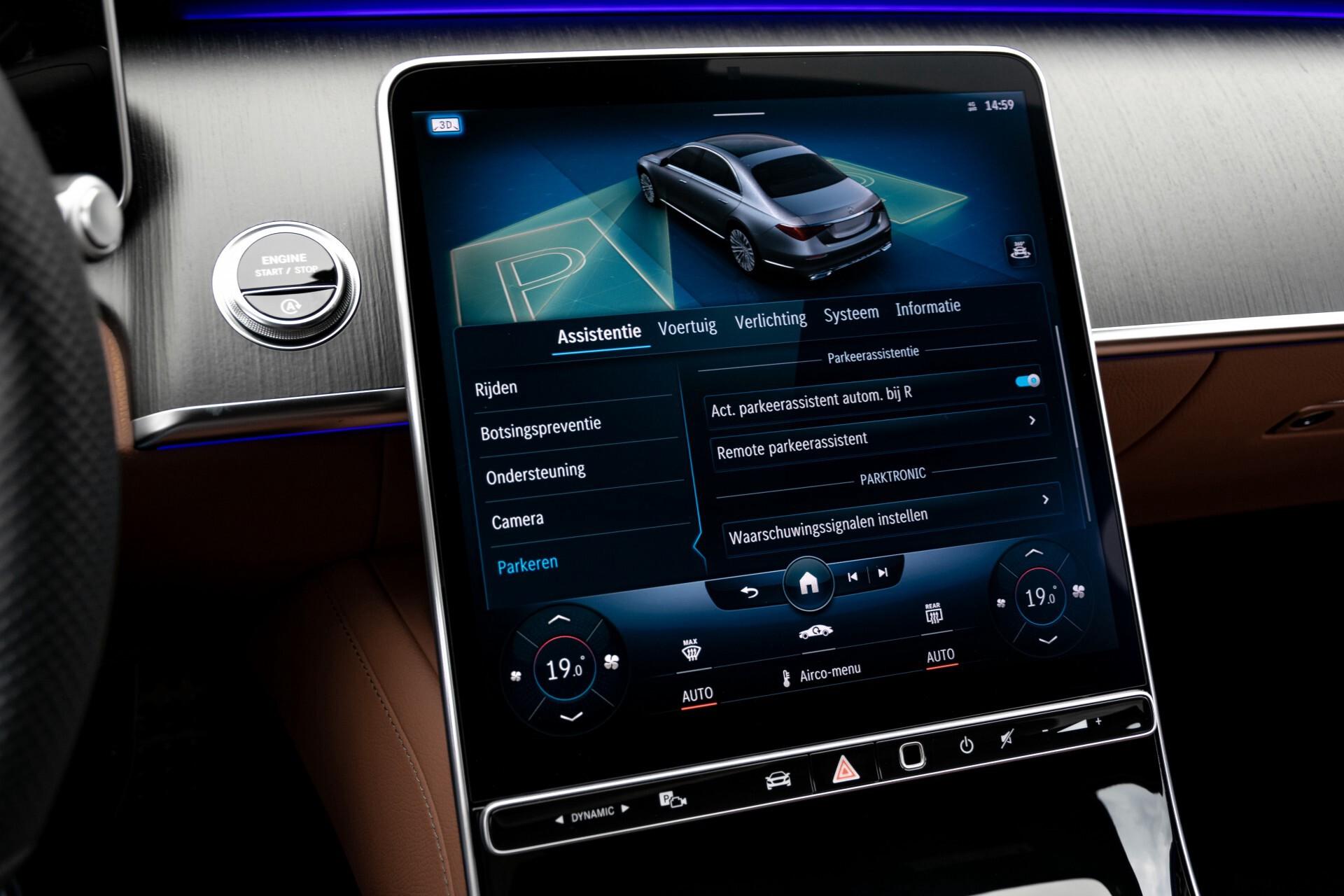 Mercedes-Benz S-Klasse 500 4-M AMG Siennabruin ruitleder/Rij-assistentiepakket/Keyless/Burmester Aut9 Foto 34