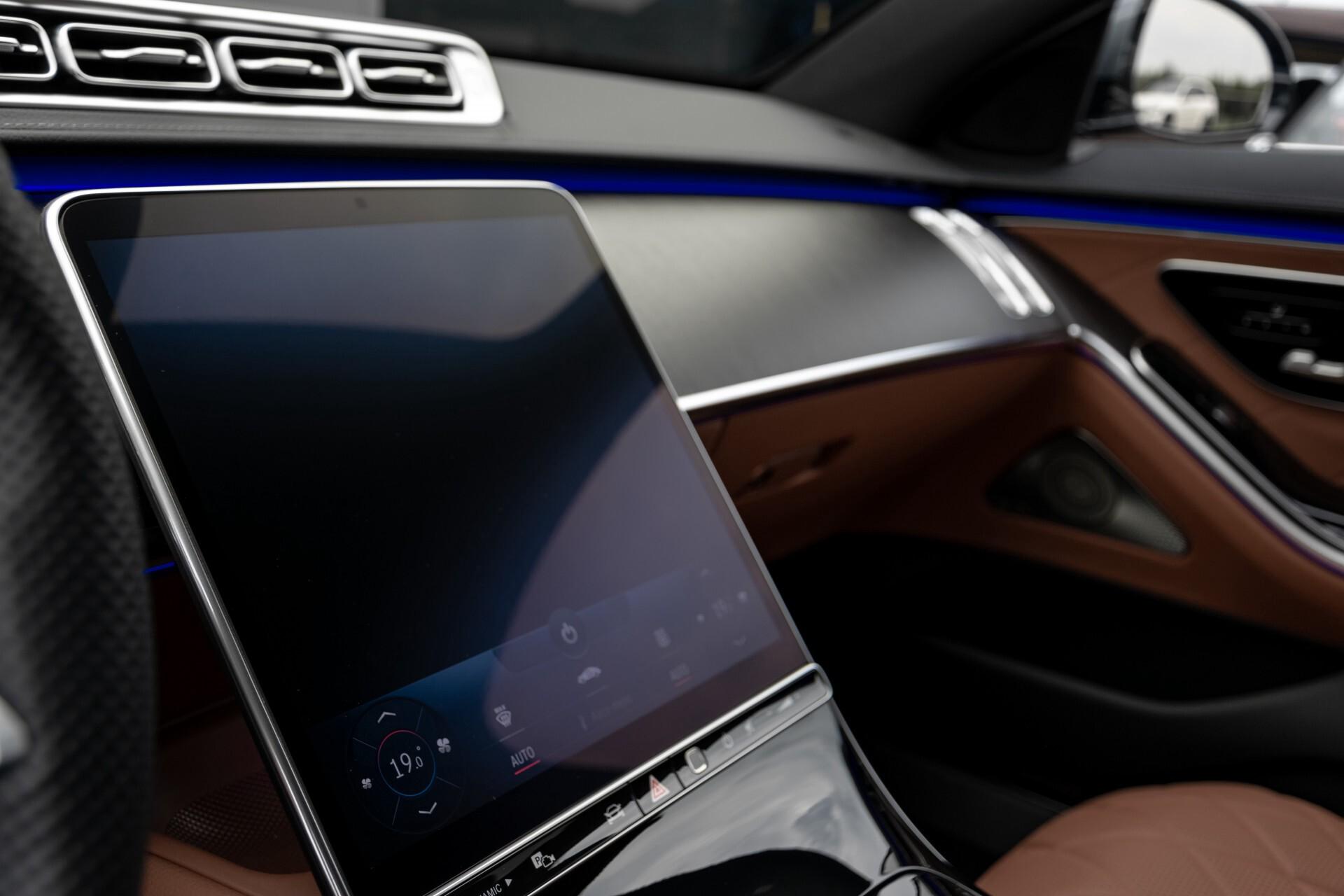 Mercedes-Benz S-Klasse 500 4-M AMG Siennabruin ruitleder/Rij-assistentiepakket/Keyless/Burmester Aut9 Foto 35