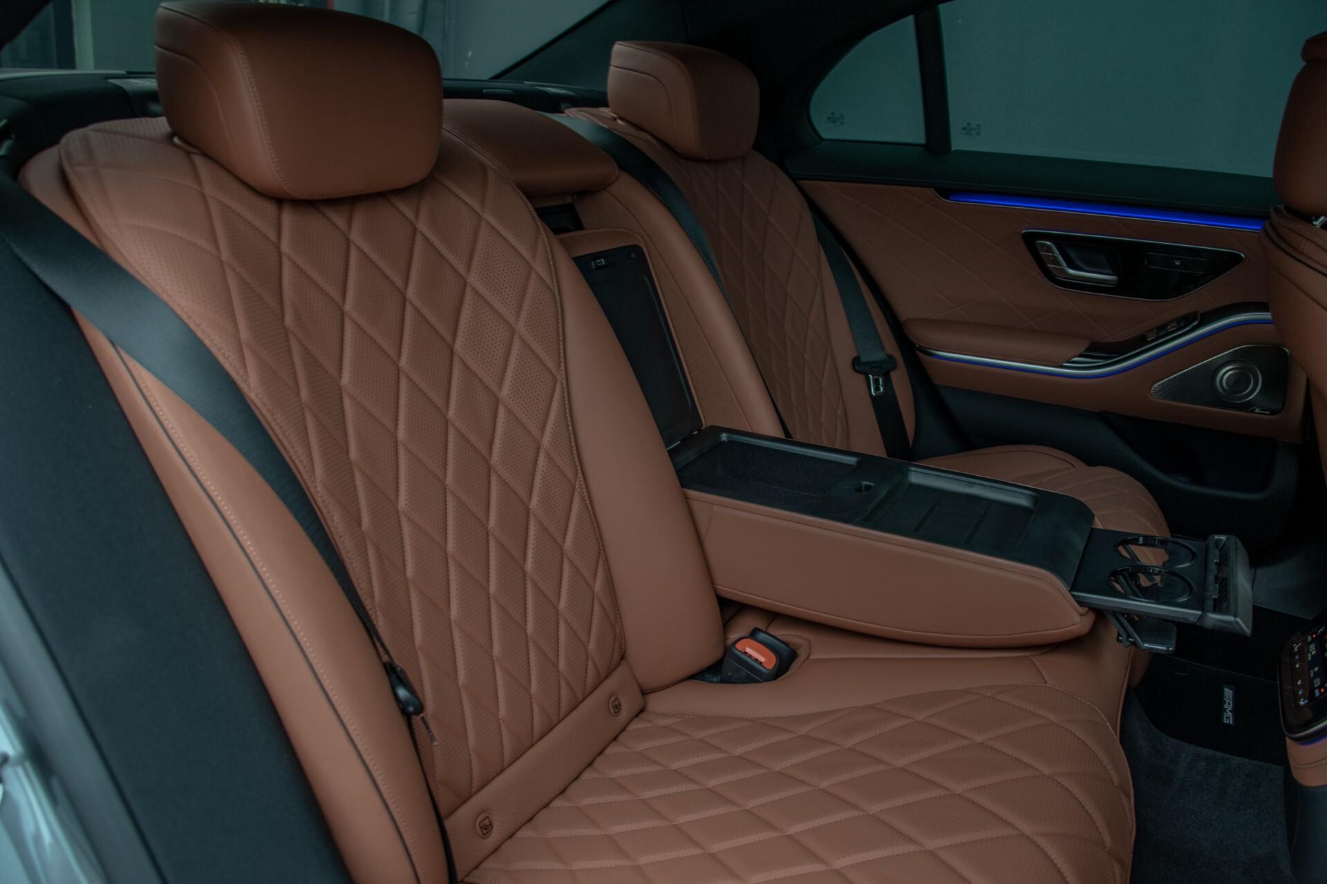Mercedes-Benz S-Klasse 500 4-M AMG Siennabruin ruitleder/Rij-assistentiepakket/Keyless/Burmester Aut9 Foto 4