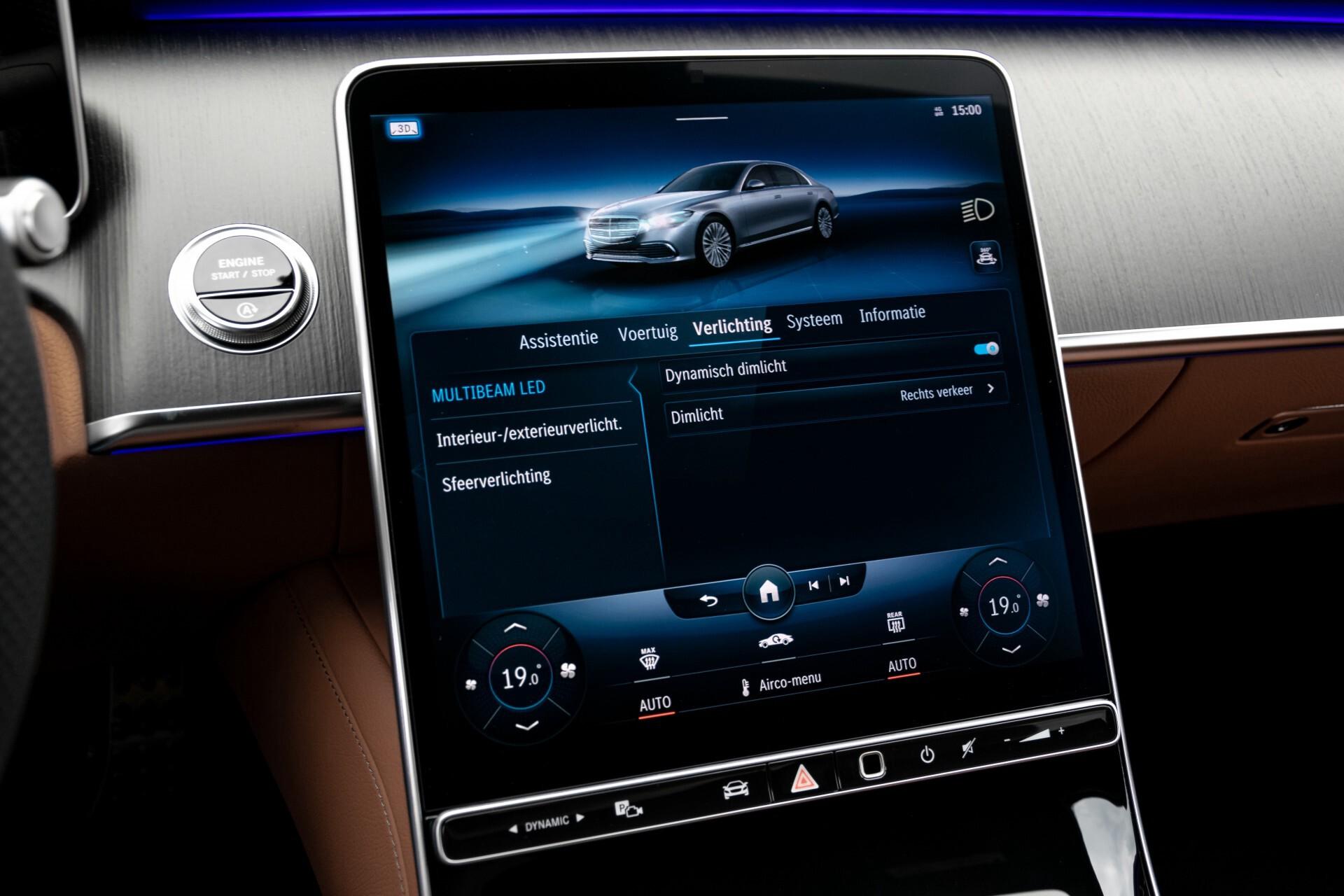 Mercedes-Benz S-Klasse 500 4-M AMG Siennabruin ruitleder/Rij-assistentiepakket/Keyless/Burmester Aut9 Foto 40