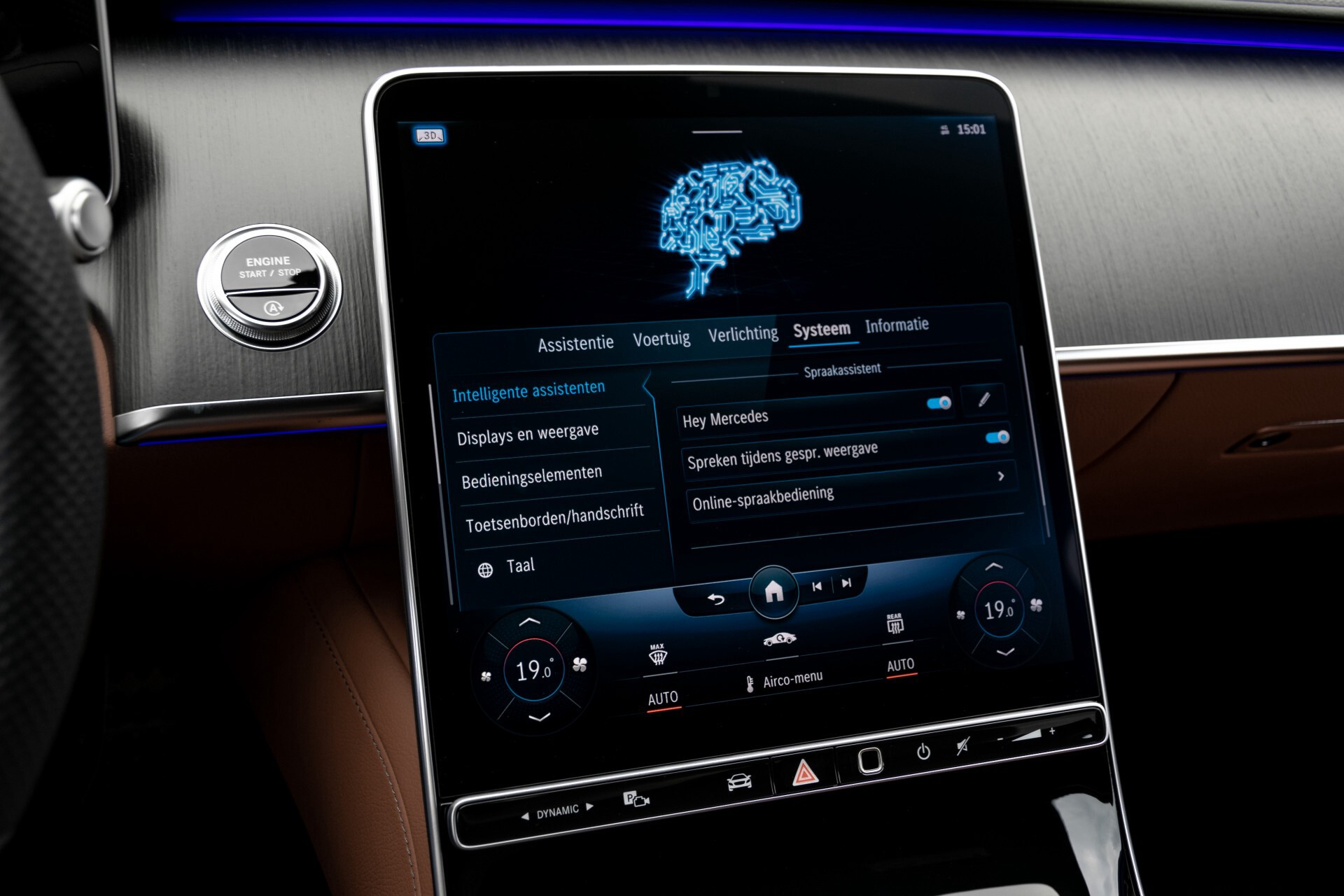 Mercedes-Benz S-Klasse 500 4-M AMG Siennabruin ruitleder/Rij-assistentiepakket/Keyless/Burmester Aut9 Foto 46