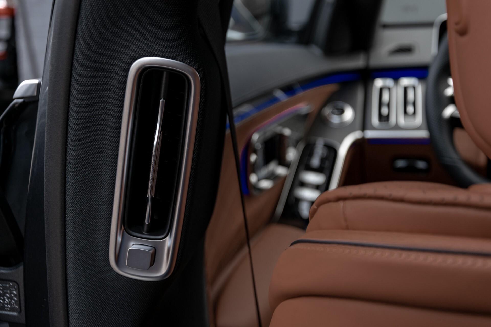 Mercedes-Benz S-Klasse 500 4-M AMG Siennabruin ruitleder/Rij-assistentiepakket/Keyless/Burmester Aut9 Foto 47