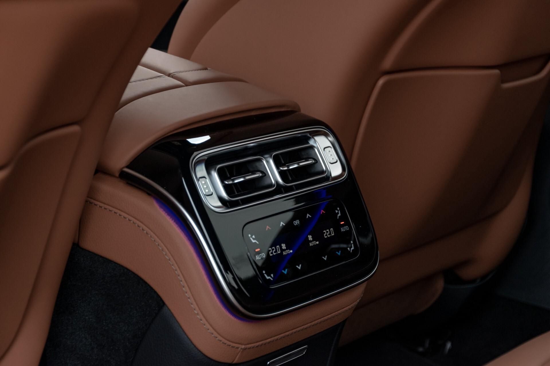 Mercedes-Benz S-Klasse 500 4-M AMG Siennabruin ruitleder/Rij-assistentiepakket/Keyless/Burmester Aut9 Foto 49