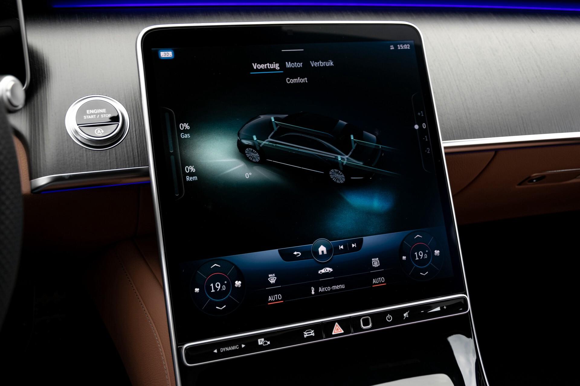 Mercedes-Benz S-Klasse 500 4-M AMG Siennabruin ruitleder/Rij-assistentiepakket/Keyless/Burmester Aut9 Foto 50