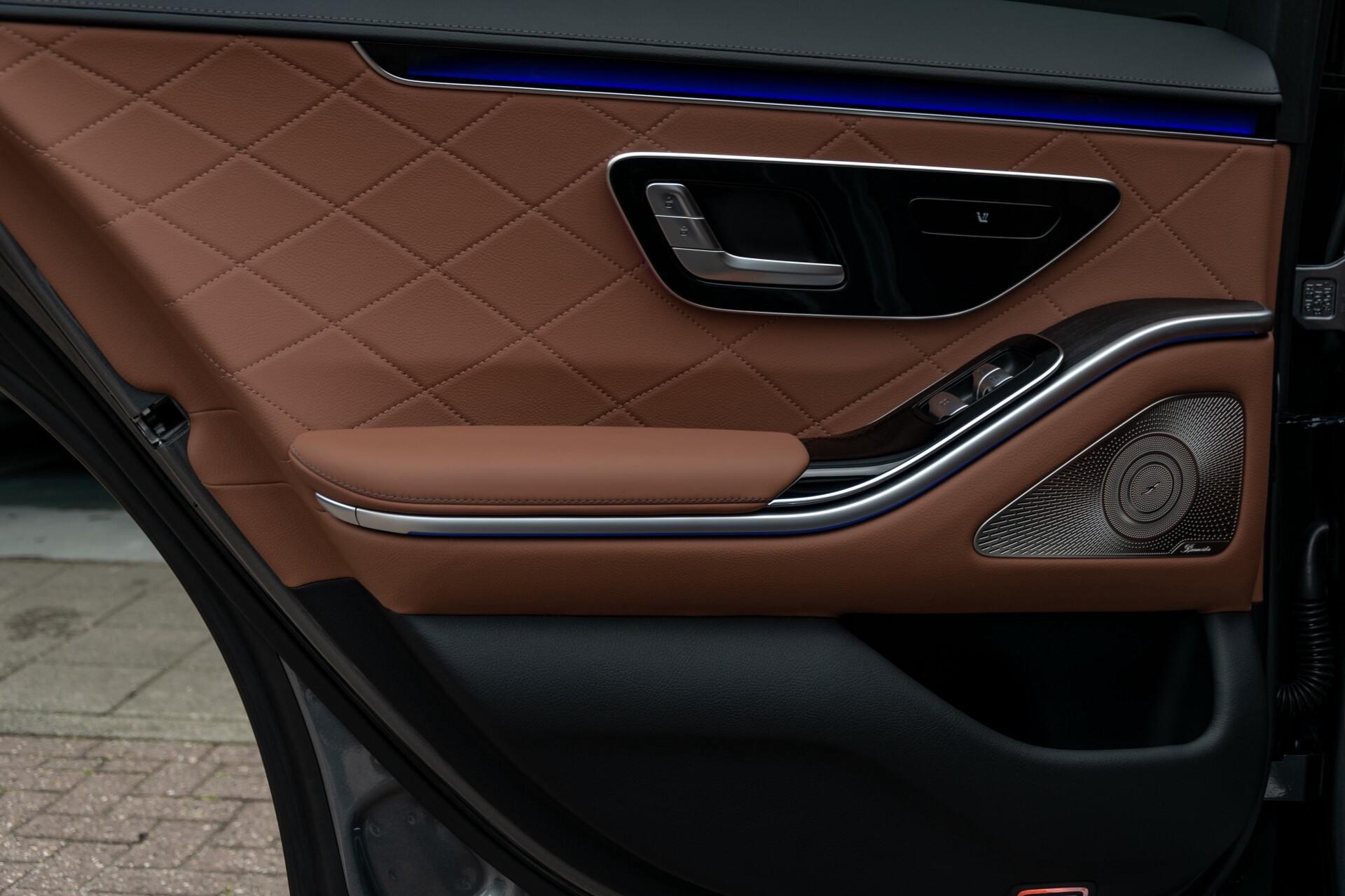 Mercedes-Benz S-Klasse 500 4-M AMG Siennabruin ruitleder/Rij-assistentiepakket/Keyless/Burmester Aut9 Foto 51