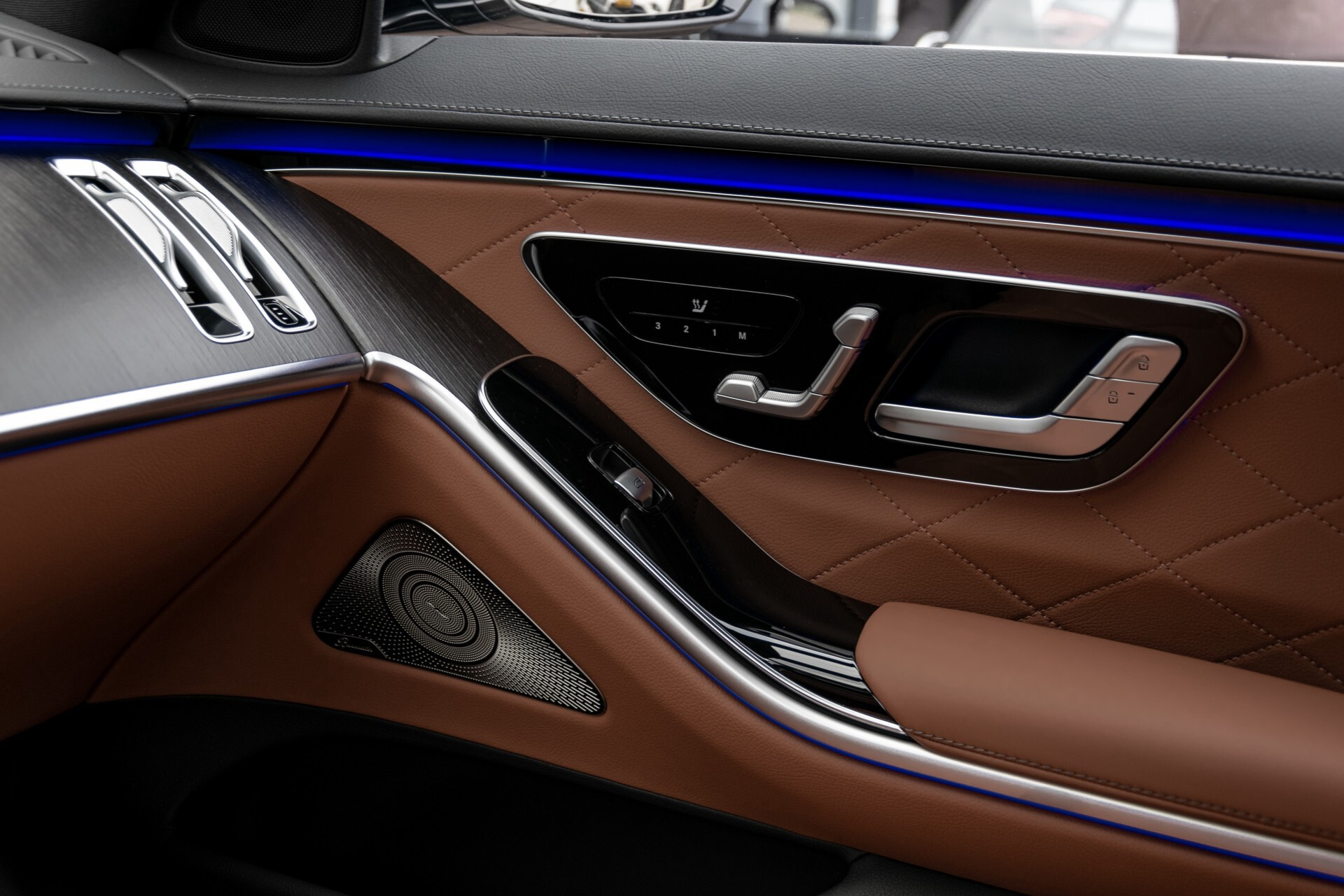Mercedes-Benz S-Klasse 500 4-M AMG Siennabruin ruitleder/Rij-assistentiepakket/Keyless/Burmester Aut9 Foto 56