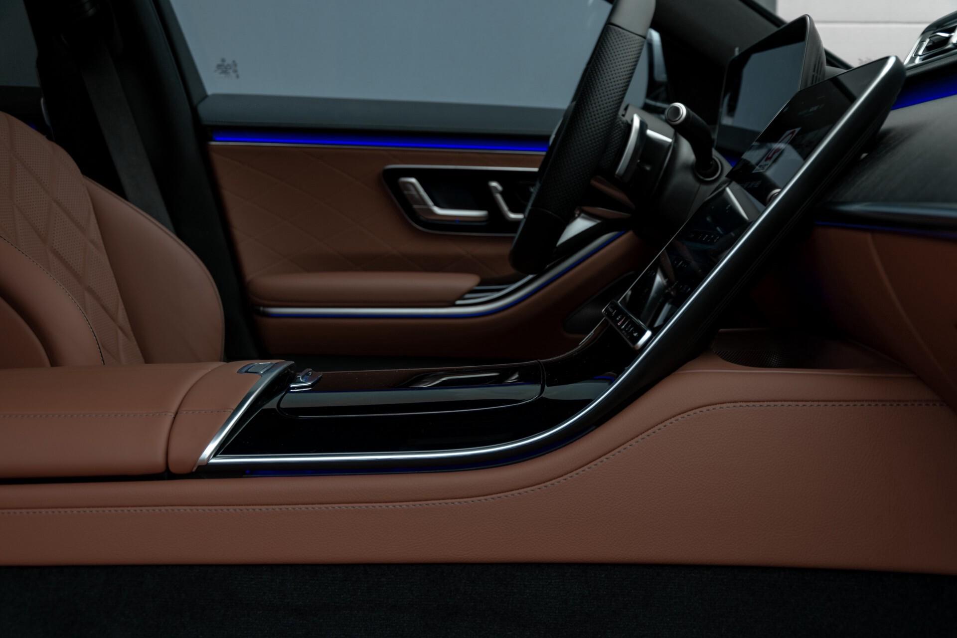 Mercedes-Benz S-Klasse 500 4-M AMG Siennabruin ruitleder/Rij-assistentiepakket/Keyless/Burmester Aut9 Foto 57