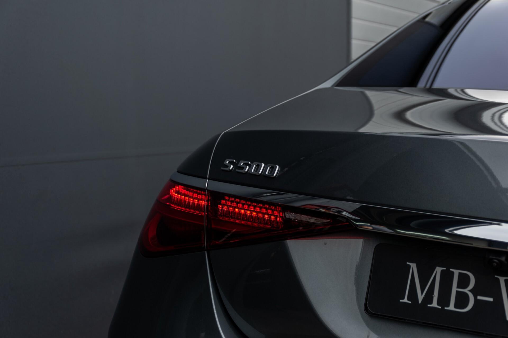 Mercedes-Benz S-Klasse 500 4-M AMG Siennabruin ruitleder/Rij-assistentiepakket/Keyless/Burmester Aut9 Foto 66