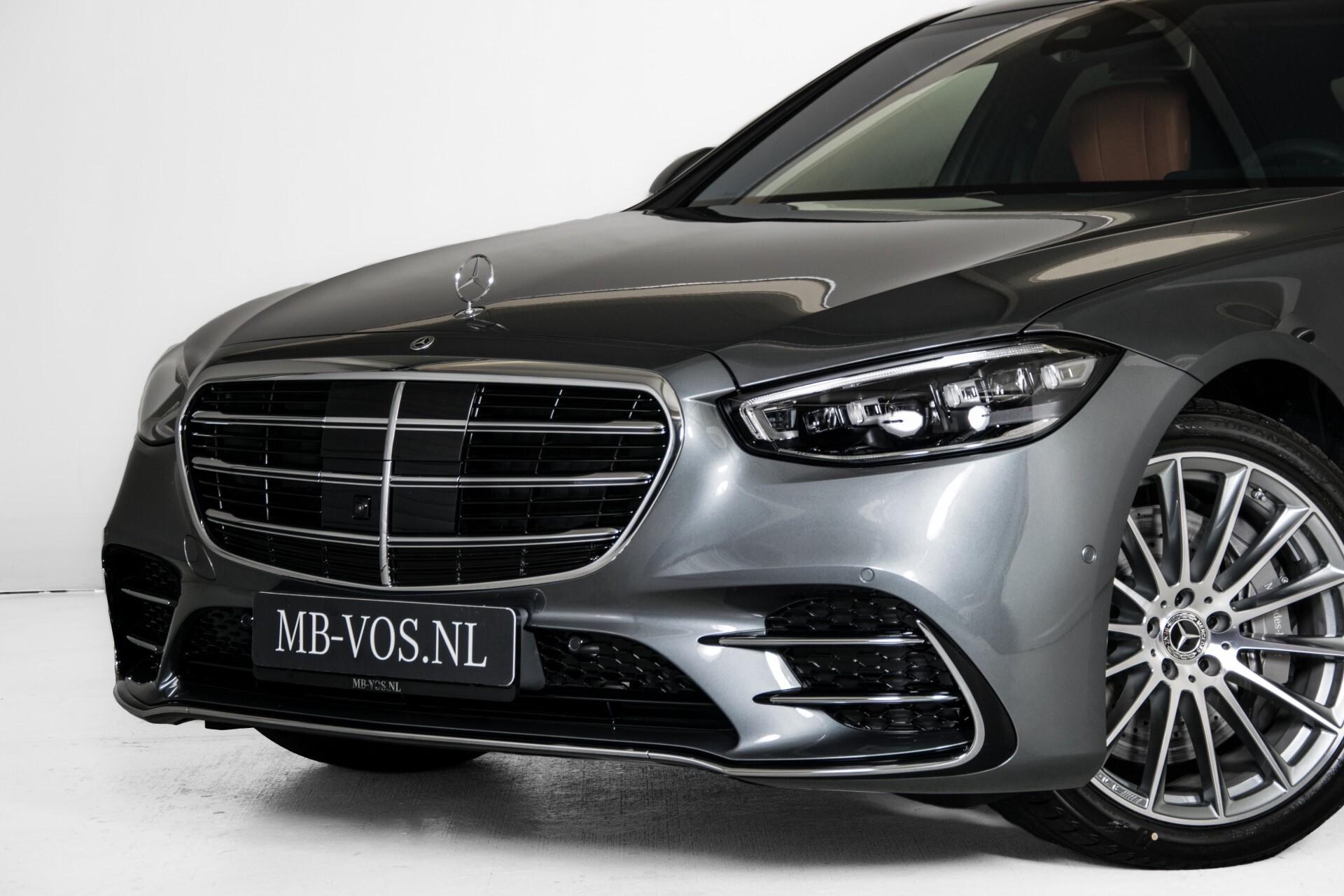 Mercedes-Benz S-Klasse 500 4-M AMG Siennabruin ruitleder/Rij-assistentiepakket/Keyless/Burmester Aut9 Foto 68