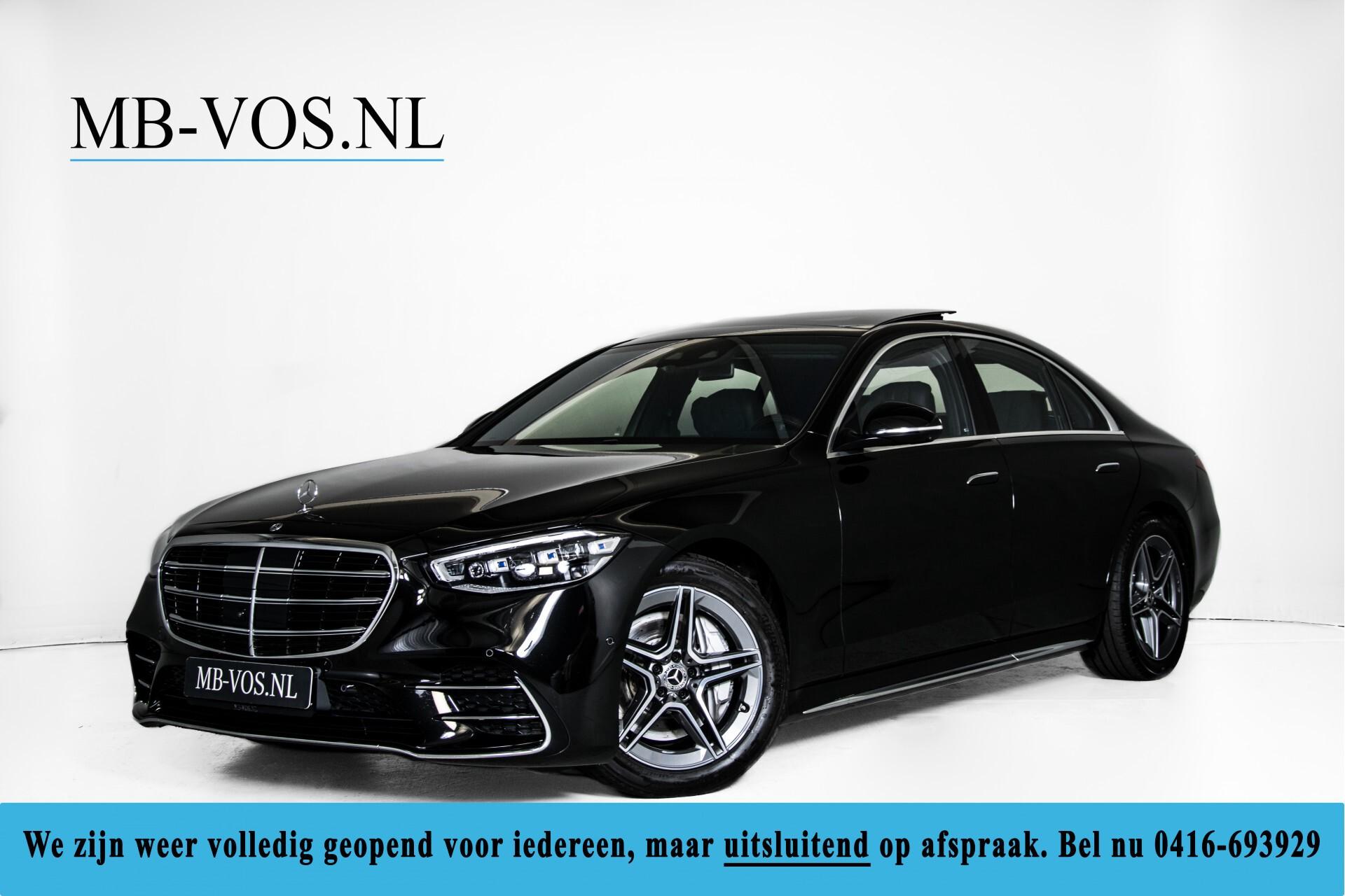 Mercedes-Benz S-Klasse 500 4-M AMG Exclusive/Achterasbesturing/Entertainment/TV/Burmester Aut9 Foto 1