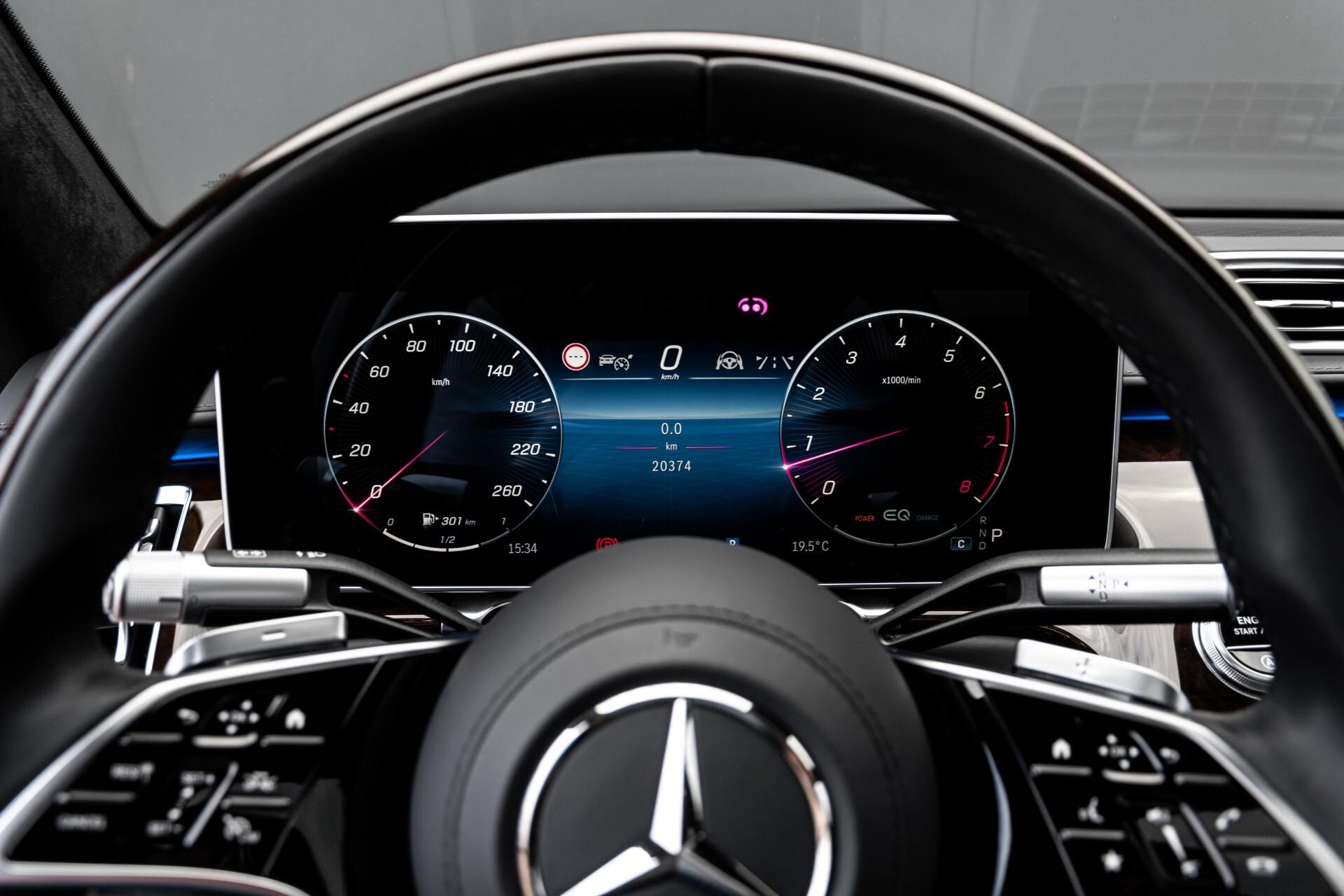Mercedes-Benz S-Klasse 500 4-M AMG Exclusive/Achterasbesturing/Entertainment/TV/Burmester Aut9 Foto 12