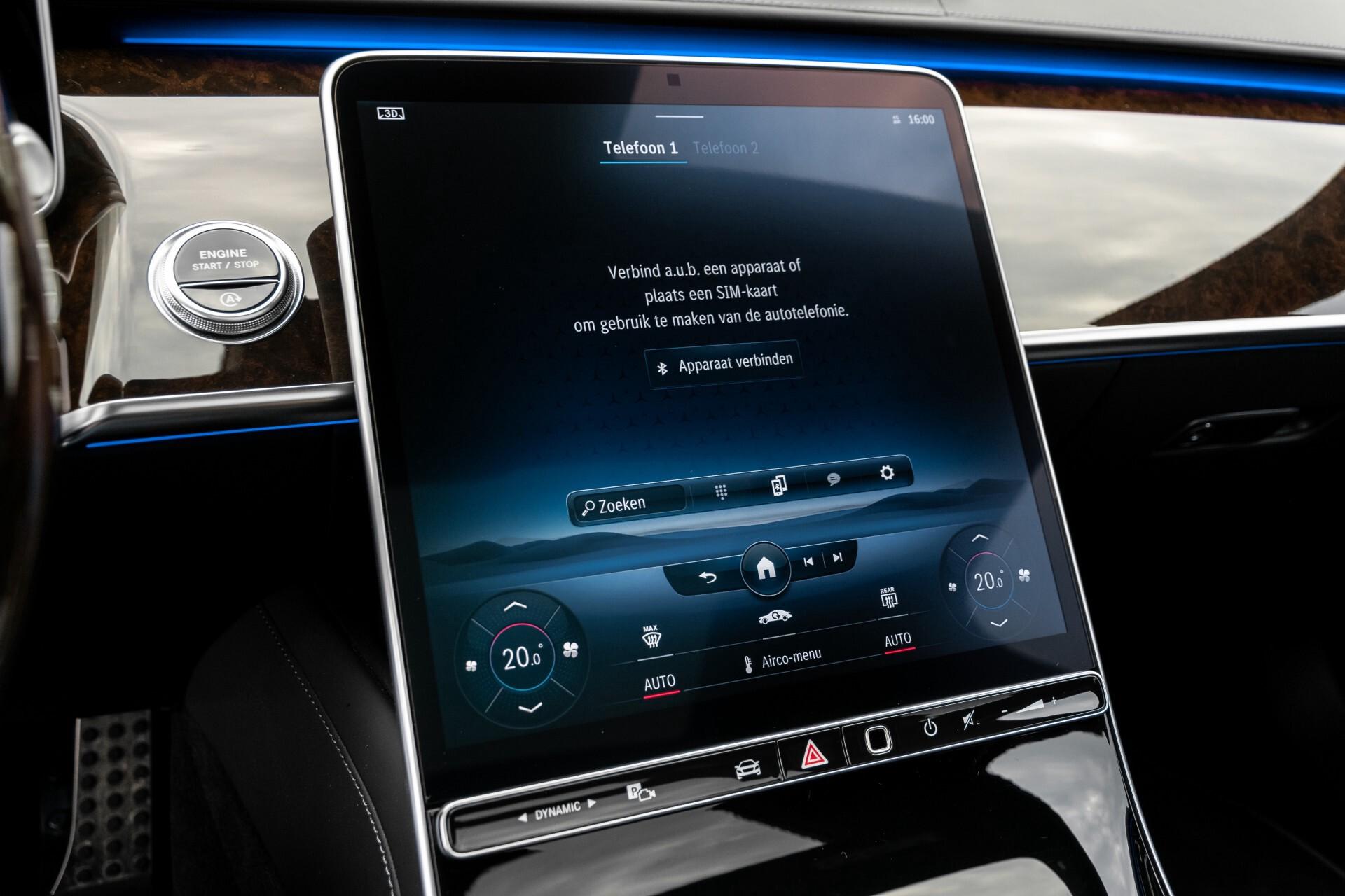 Mercedes-Benz S-Klasse 500 4-M AMG Exclusive/Achterasbesturing/Entertainment/TV/Burmester Aut9 Foto 22