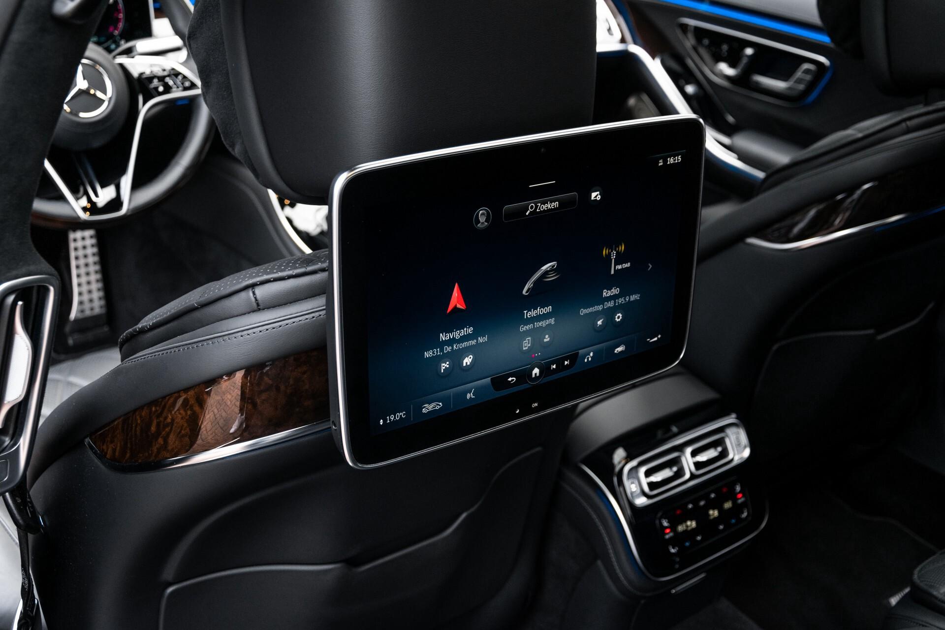Mercedes-Benz S-Klasse 500 4-M AMG Exclusive/Achterasbesturing/Entertainment/TV/Burmester Aut9 Foto 54