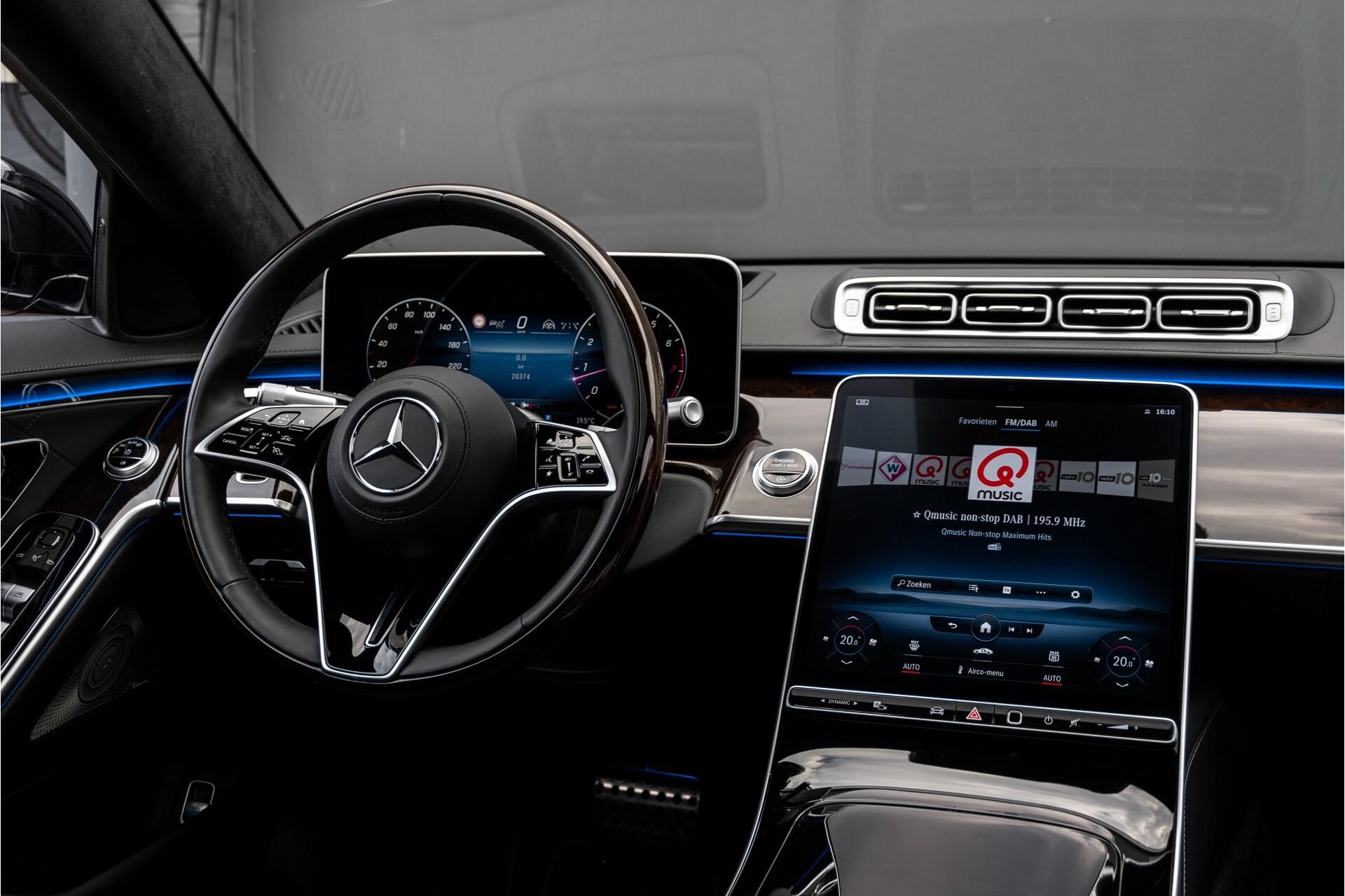 Mercedes-Benz S-Klasse 500 4-M AMG Exclusive/Achterasbesturing/Entertainment/TV/Burmester Aut9 Foto 6