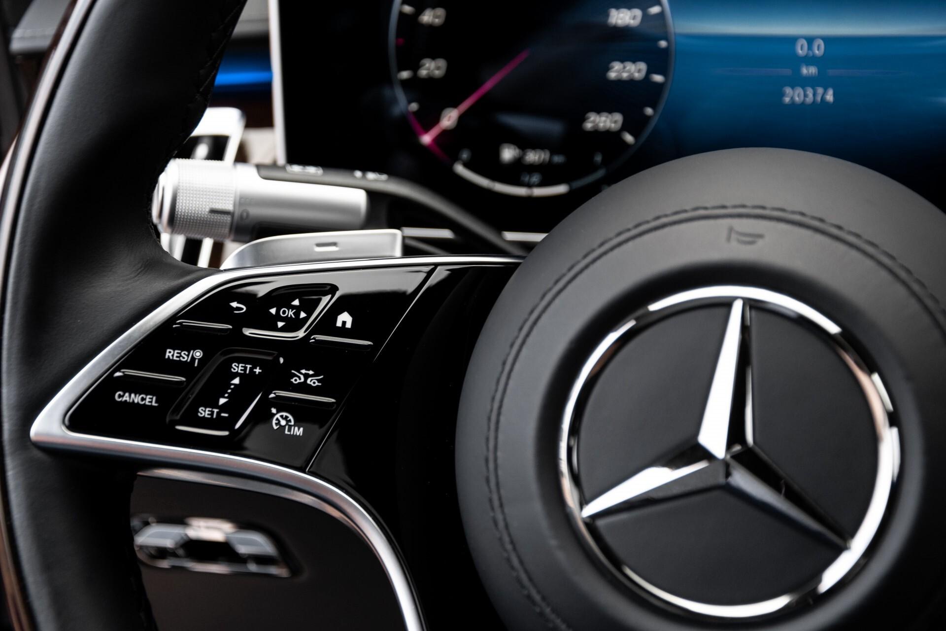 Mercedes-Benz S-Klasse 500 4-M AMG Exclusive/Achterasbesturing/Entertainment/TV/Burmester Aut9 Foto 9
