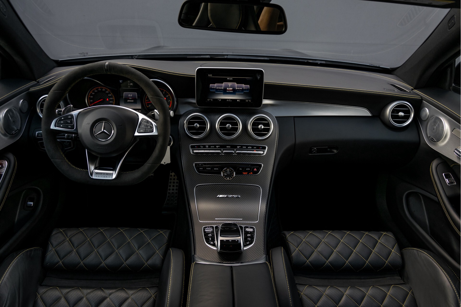Mercedes-Benz C-Klasse Coupé 63 S AMG Edition 1 Performance/Burmester/Mem Aut7 Foto 8