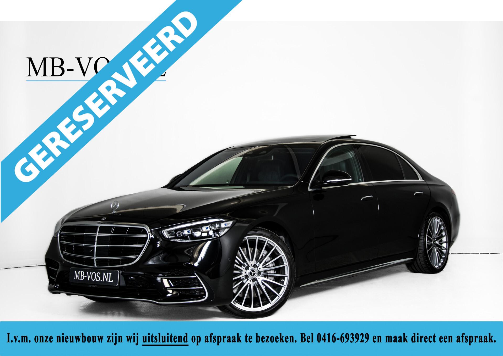 """Mercedes-Benz S-Klasse 400d Lang 4-M AMG Premium Plus 21""""/Massage/Head-Up/Digital Light/Ruitleder Aut9 Foto 1"""