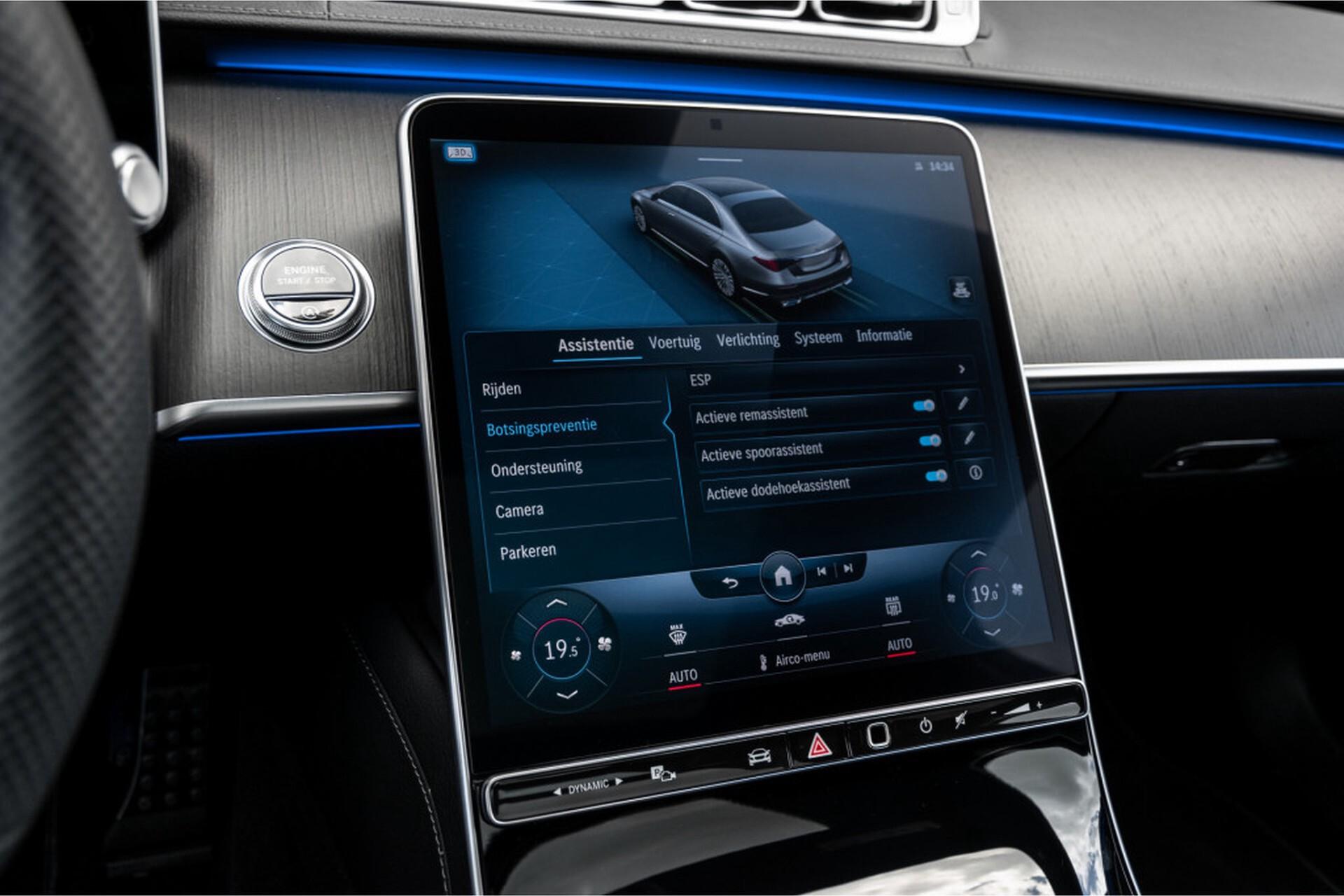 """Mercedes-Benz S-Klasse 400d Lang 4-M AMG Premium Plus 21""""/Massage/Head-Up/Digital Light/Ruitleder Aut9 Foto 33"""