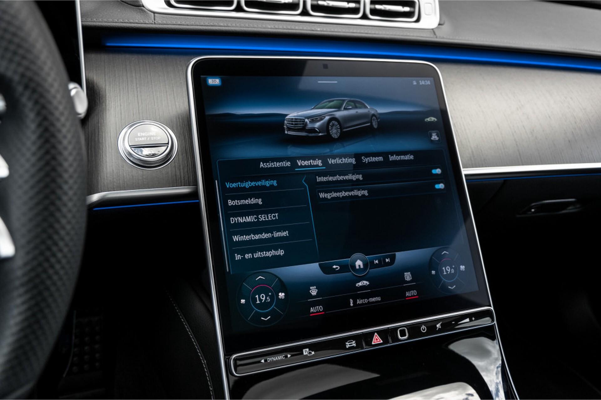 """Mercedes-Benz S-Klasse 400d Lang 4-M AMG Premium Plus 21""""/Massage/Head-Up/Digital Light/Ruitleder Aut9 Foto 35"""