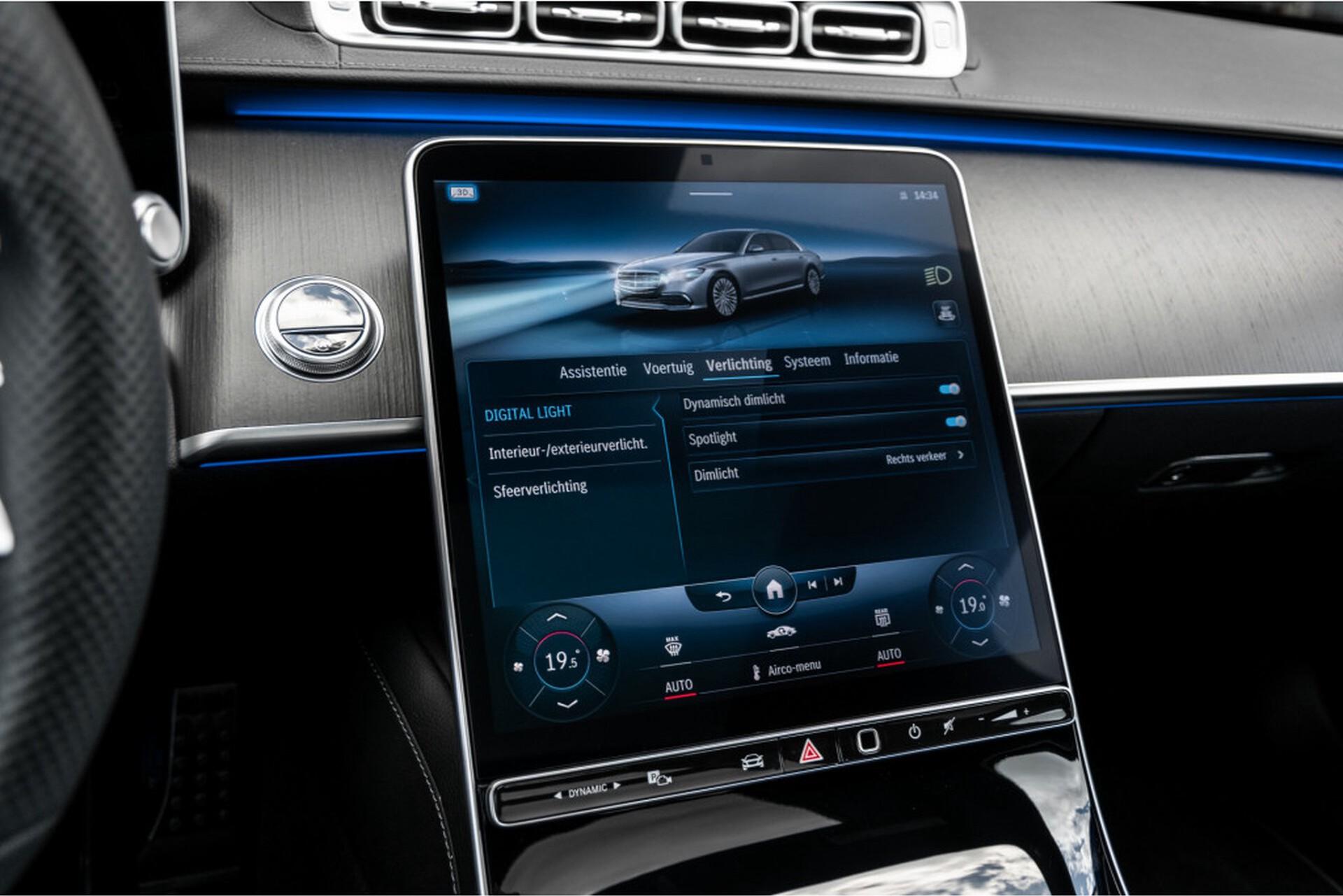 """Mercedes-Benz S-Klasse 400d Lang 4-M AMG Premium Plus 21""""/Massage/Head-Up/Digital Light/Ruitleder Aut9 Foto 39"""