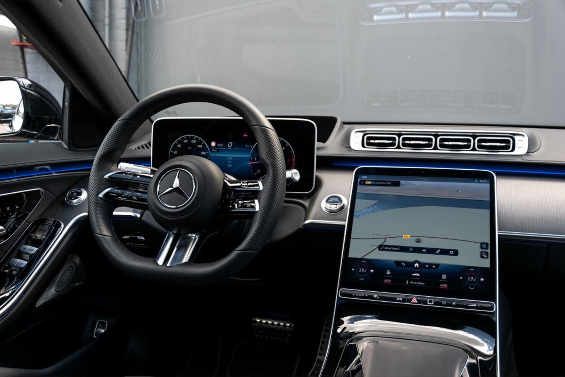 """Mercedes-Benz S-Klasse 400d Lang 4-M AMG Premium Plus 21""""/Massage/Head-Up/Digital Light/Ruitleder Aut9 Foto 5"""