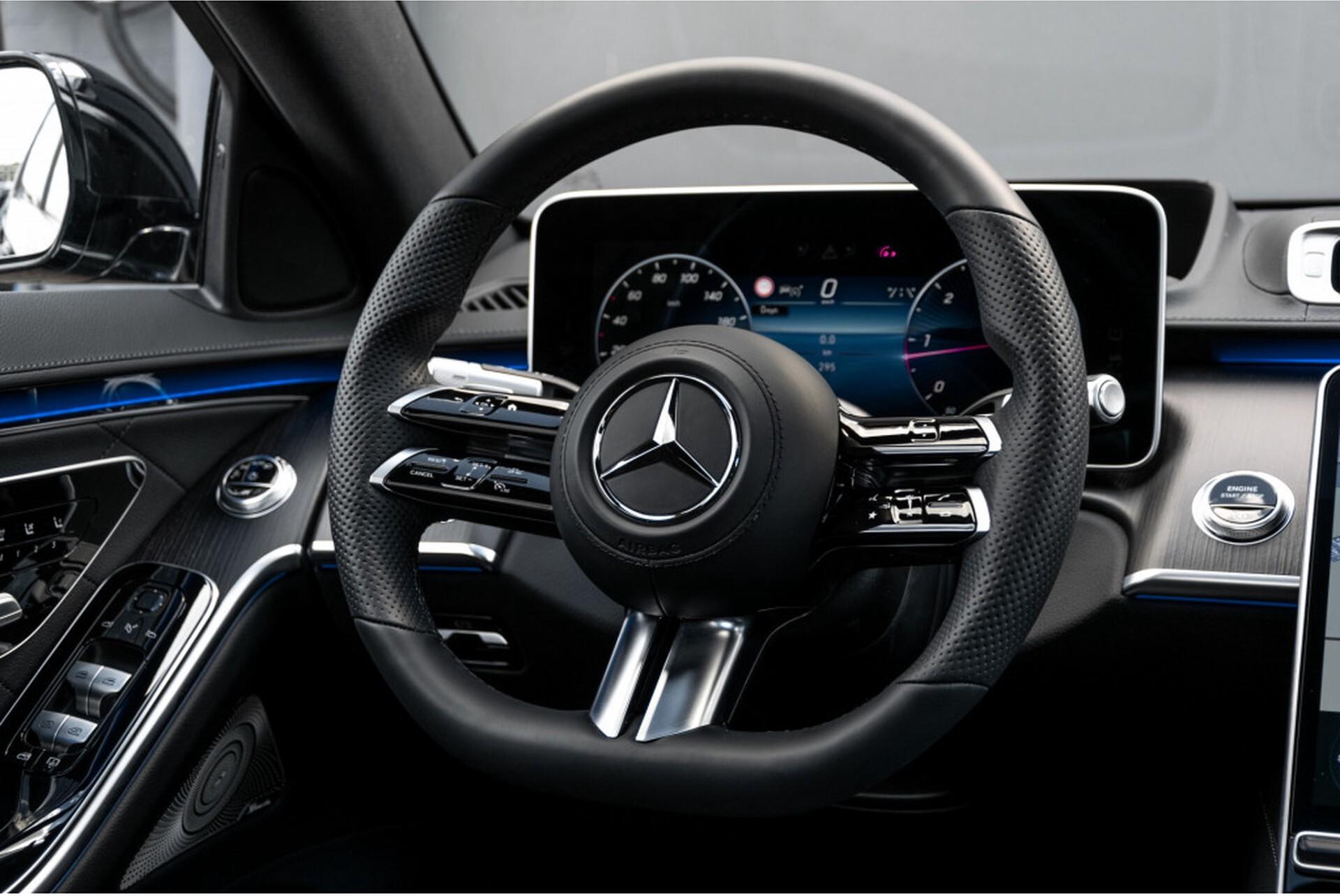 """Mercedes-Benz S-Klasse 400d Lang 4-M AMG Premium Plus 21""""/Massage/Head-Up/Digital Light/Ruitleder Aut9 Foto 7"""